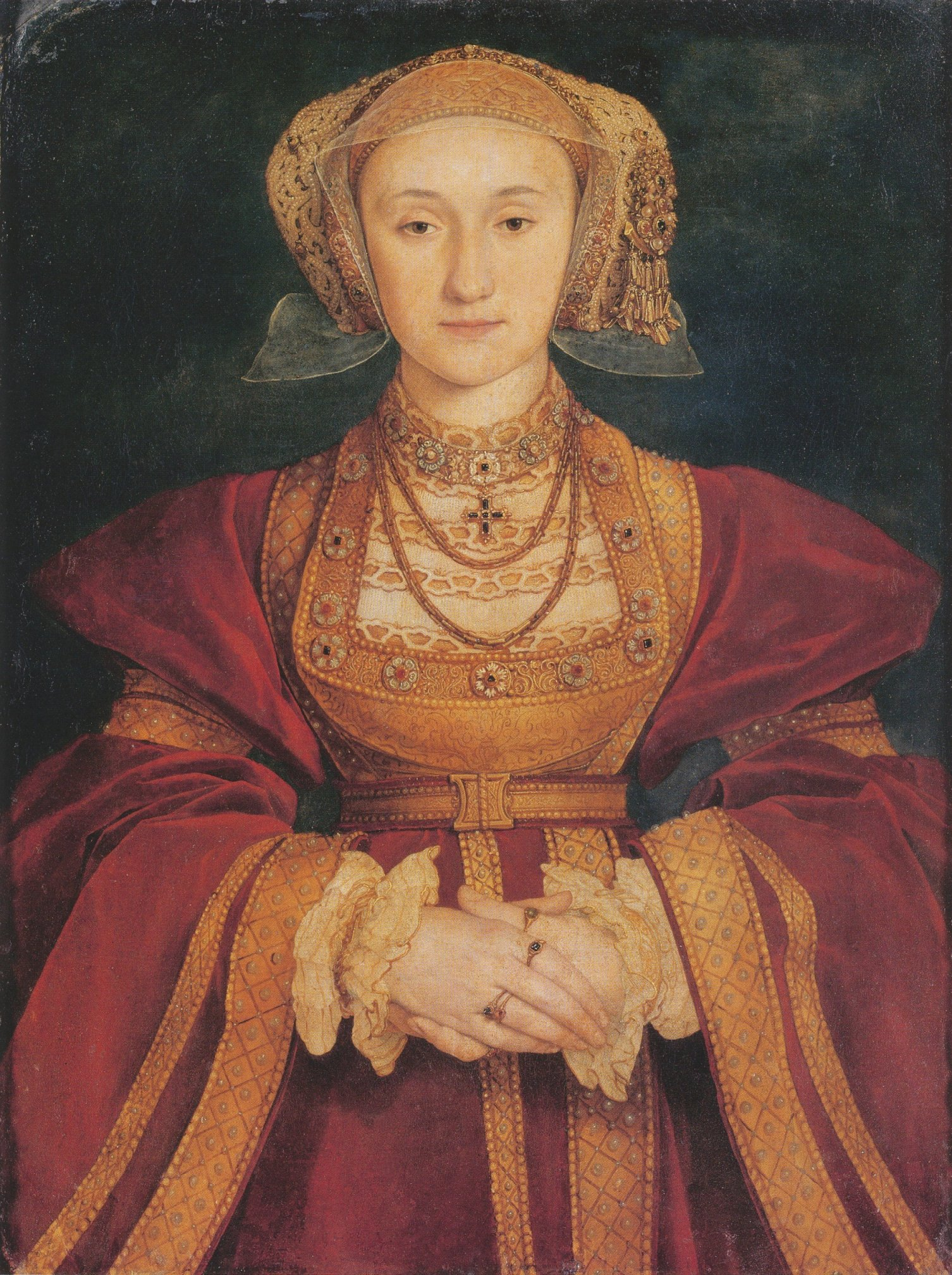Portrait of Anne of Cleves. c.1539
