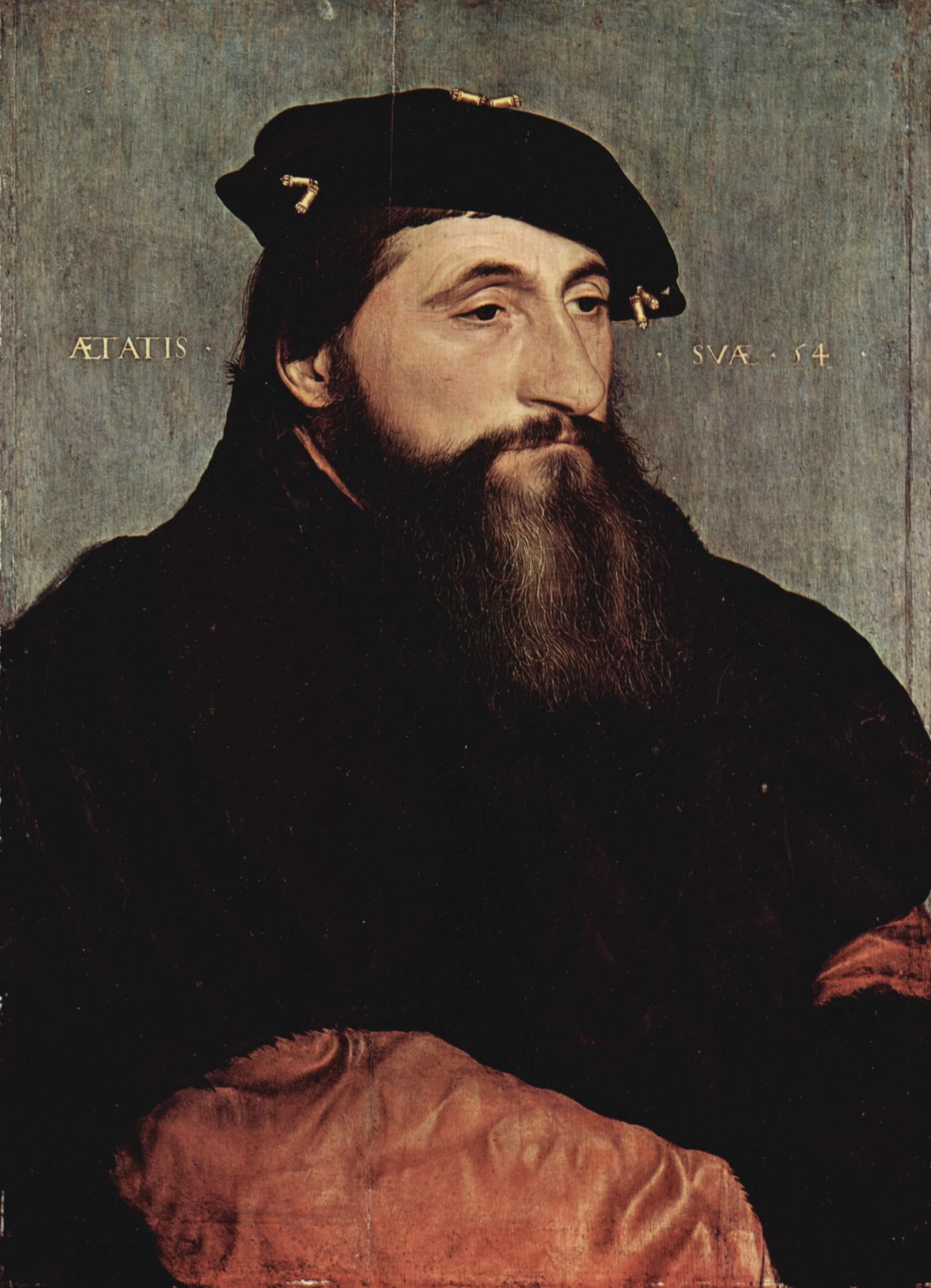 Portrait of Anton the Good, Duke of Lorraine. 1543