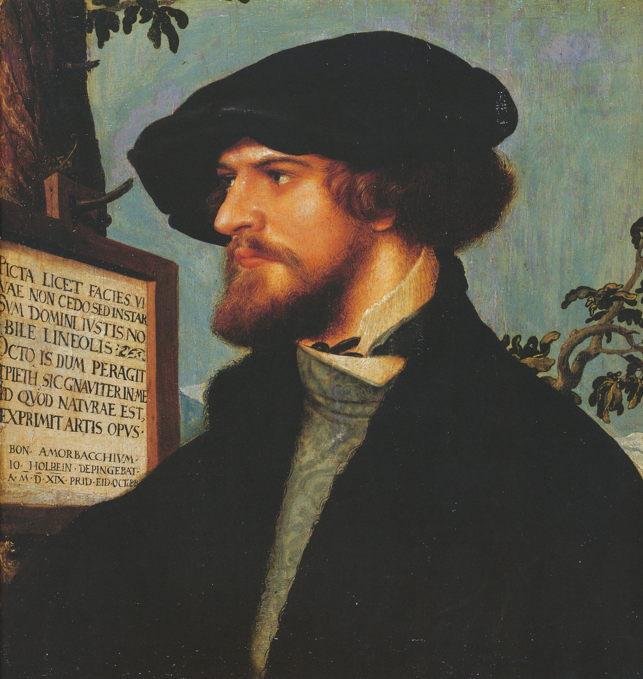 Portrait of Boniface Amerbach. 1519