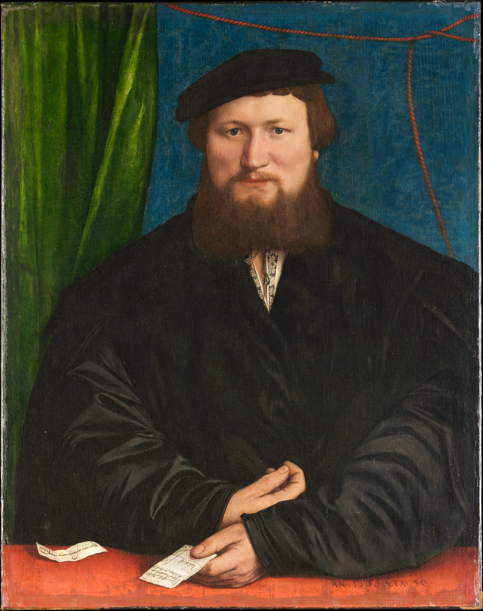 Portrait of Derich Berck. c.1536