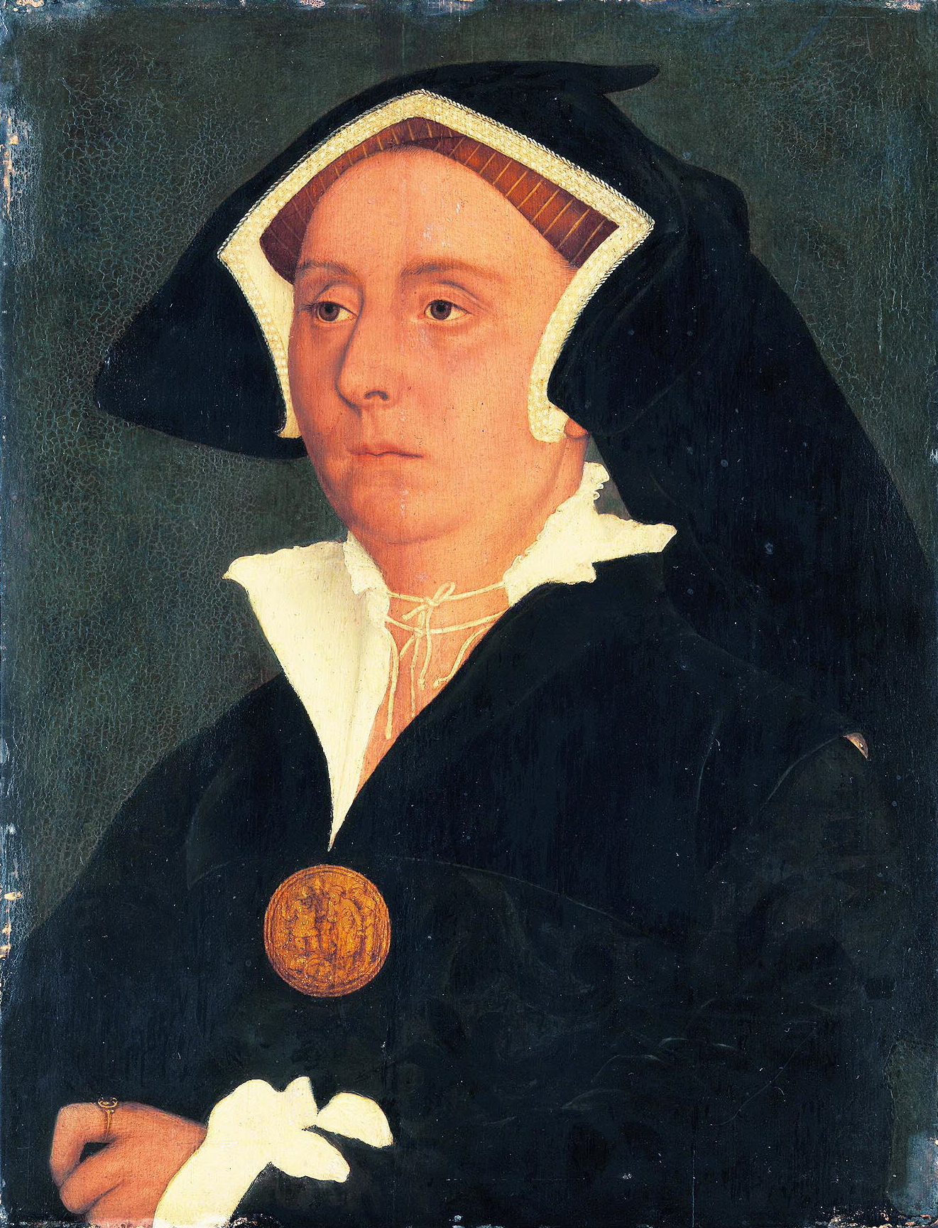 Portrait of Elizabeth, Lady Rich. c.1540