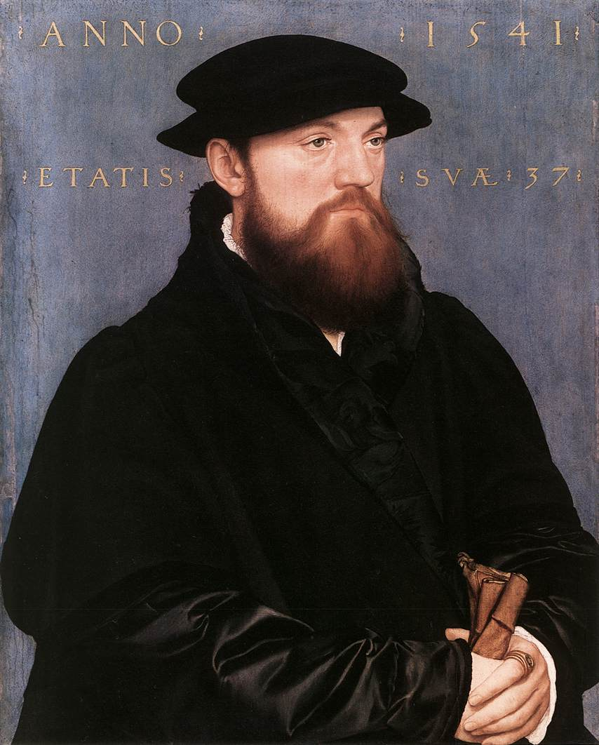 Portrait of Fox Steenwijk. 1541