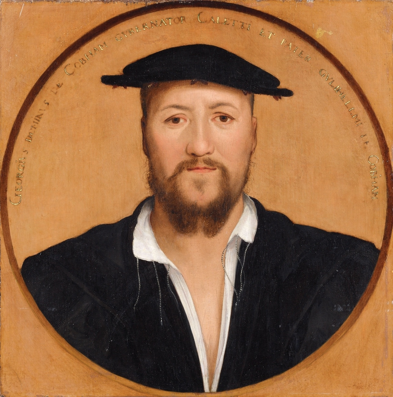 Portrait of George Brooke, 9th Baron Cobham. after 1544