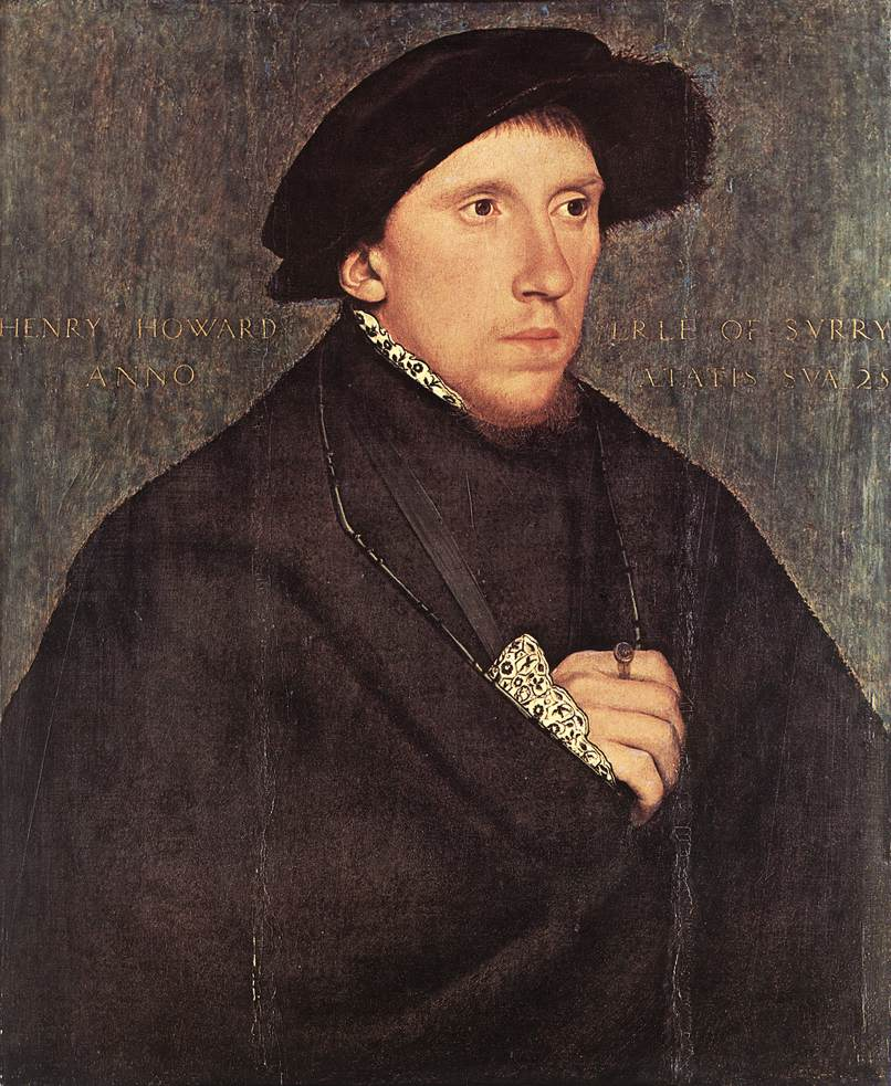 Portrait of Henry Howard, the Earl of Surrey. 1541-43