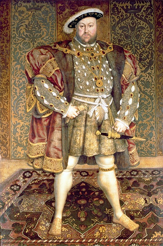 Portrait of Henry VIII of England, unknow artist after Hans Holbein the Younger_ Belvoir_Castle