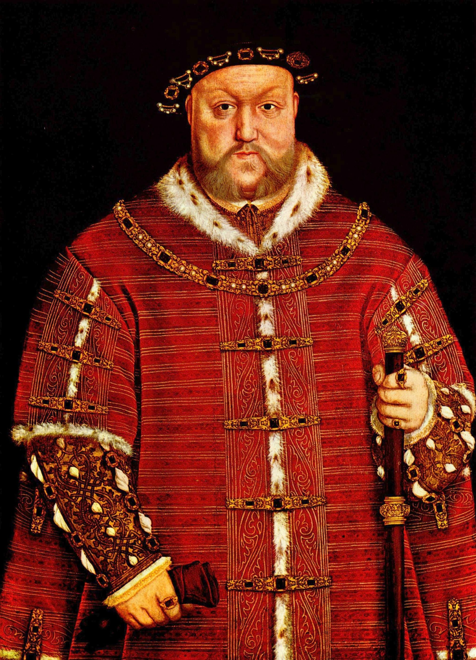 Portrait of Henry VIII. 1542