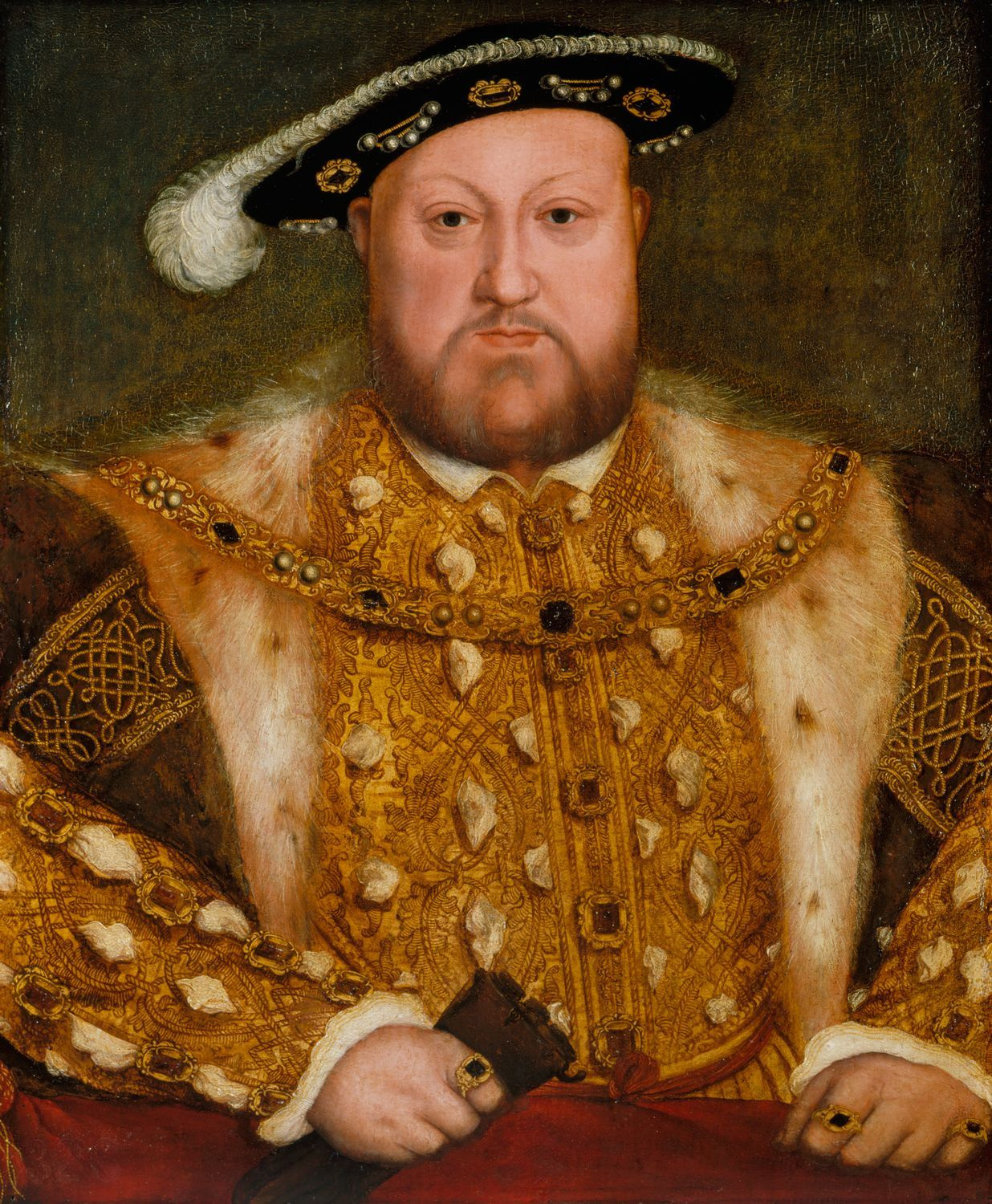 Portrait of Henry VIII. c.1560-80. After Hans Holbein the Younger