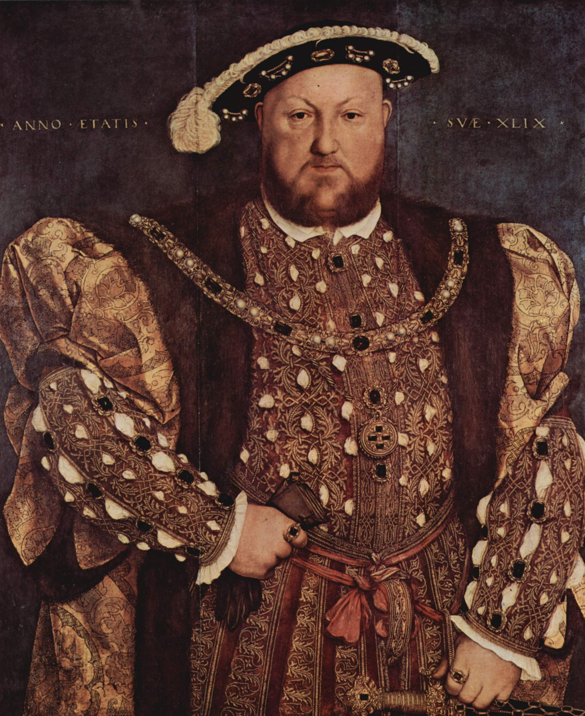 Portrait of Henry VIII. c.1570-99. After Hans Holbein the Younger
