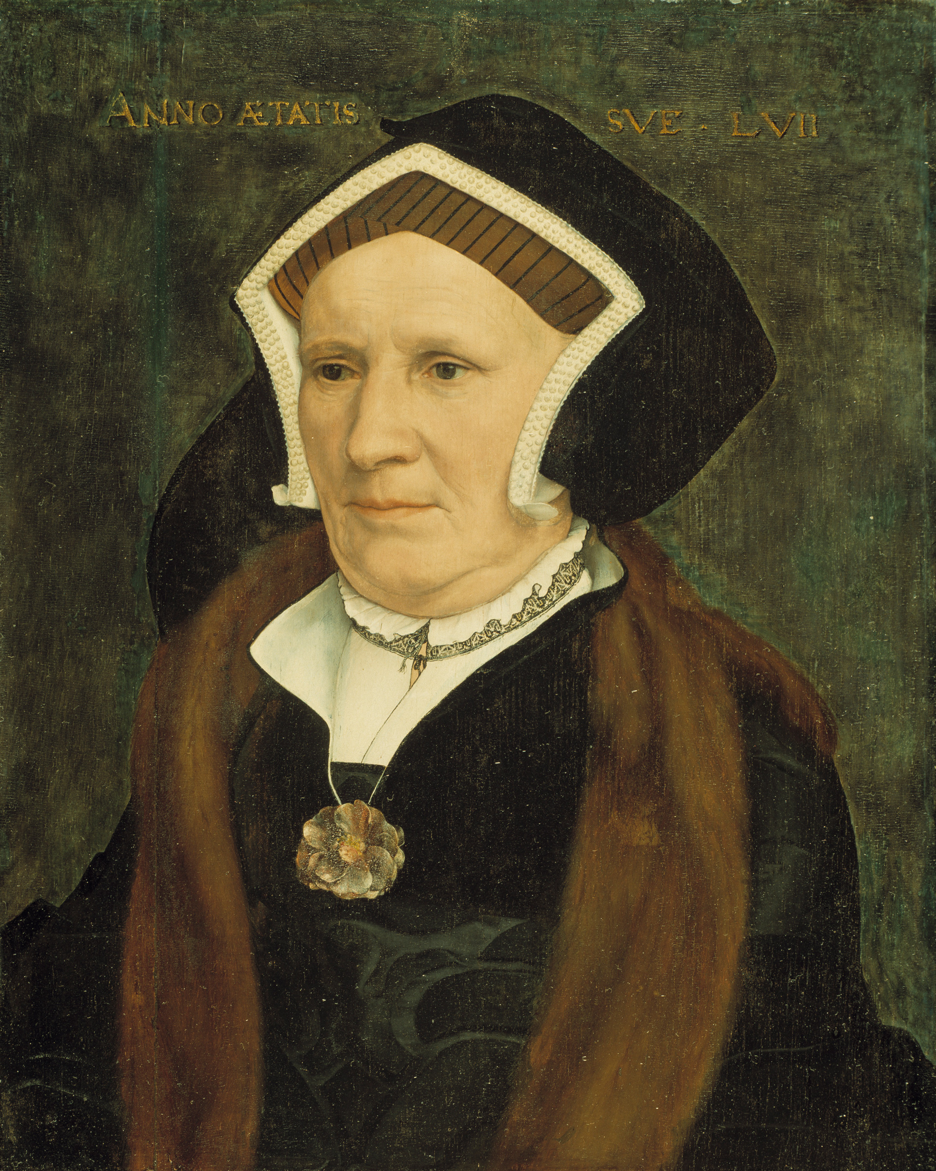 Portrait of Lady Margaret Butts. c.1543