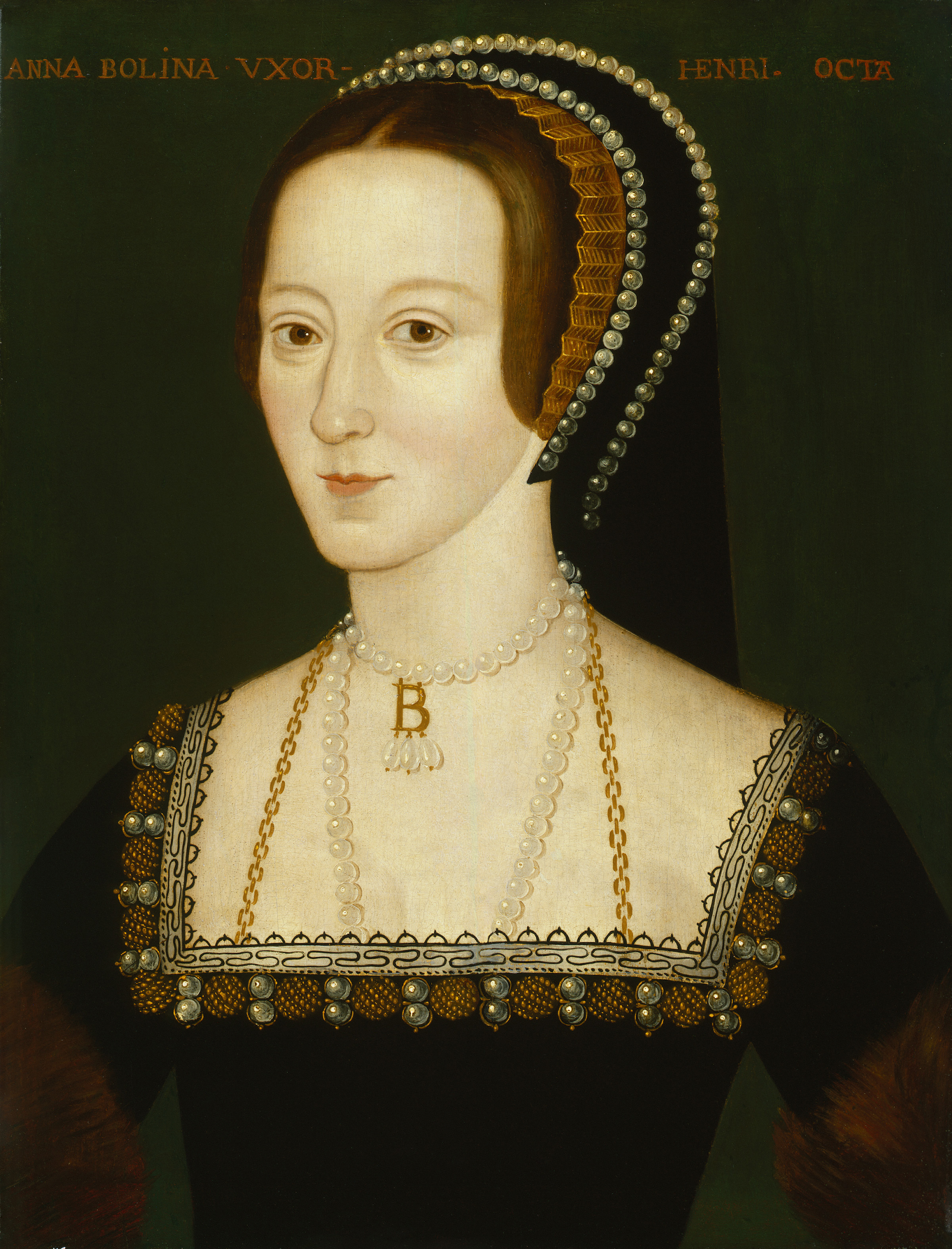 Portrait of of Anne Boleyn. u.d.