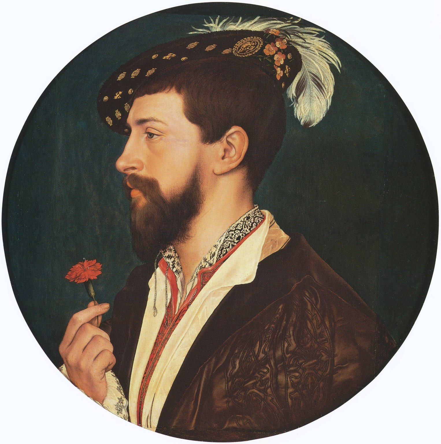 Portrait of Simon George. c.1533