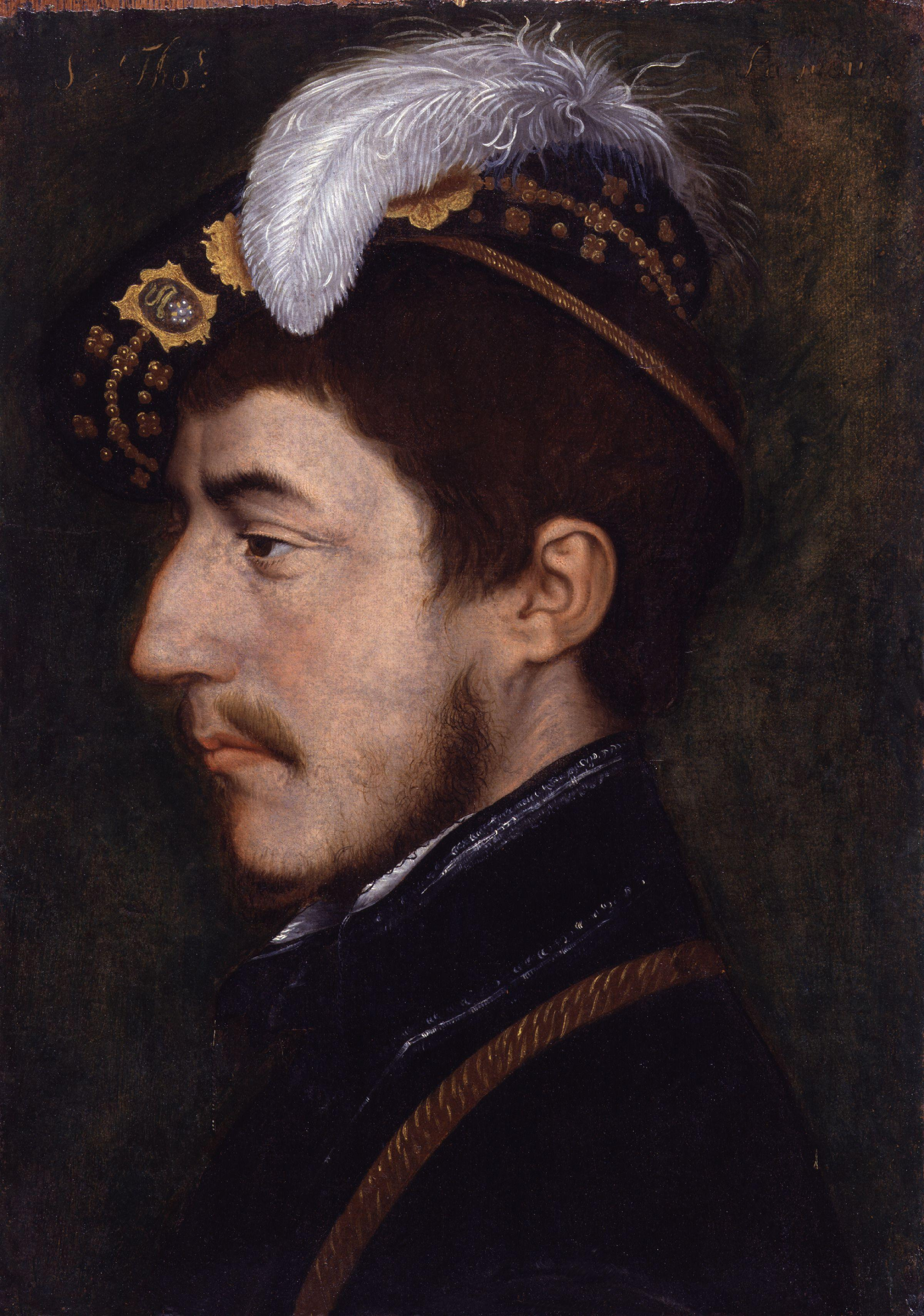 Portrait of Sir Sir Nicholas Poyntz. c.1535