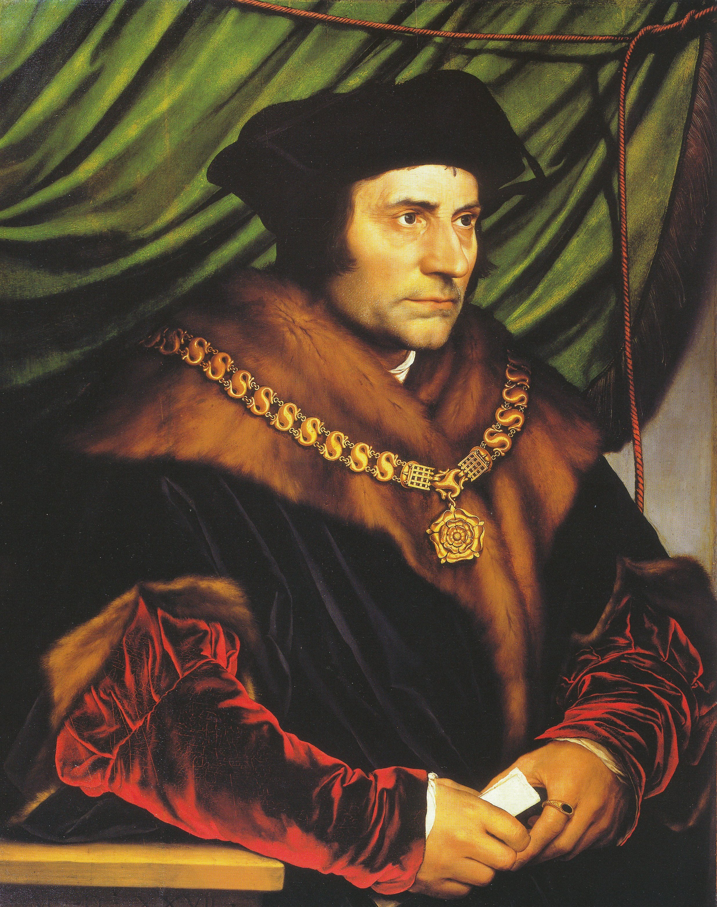 Portrait of Sir Thomas More. 1527