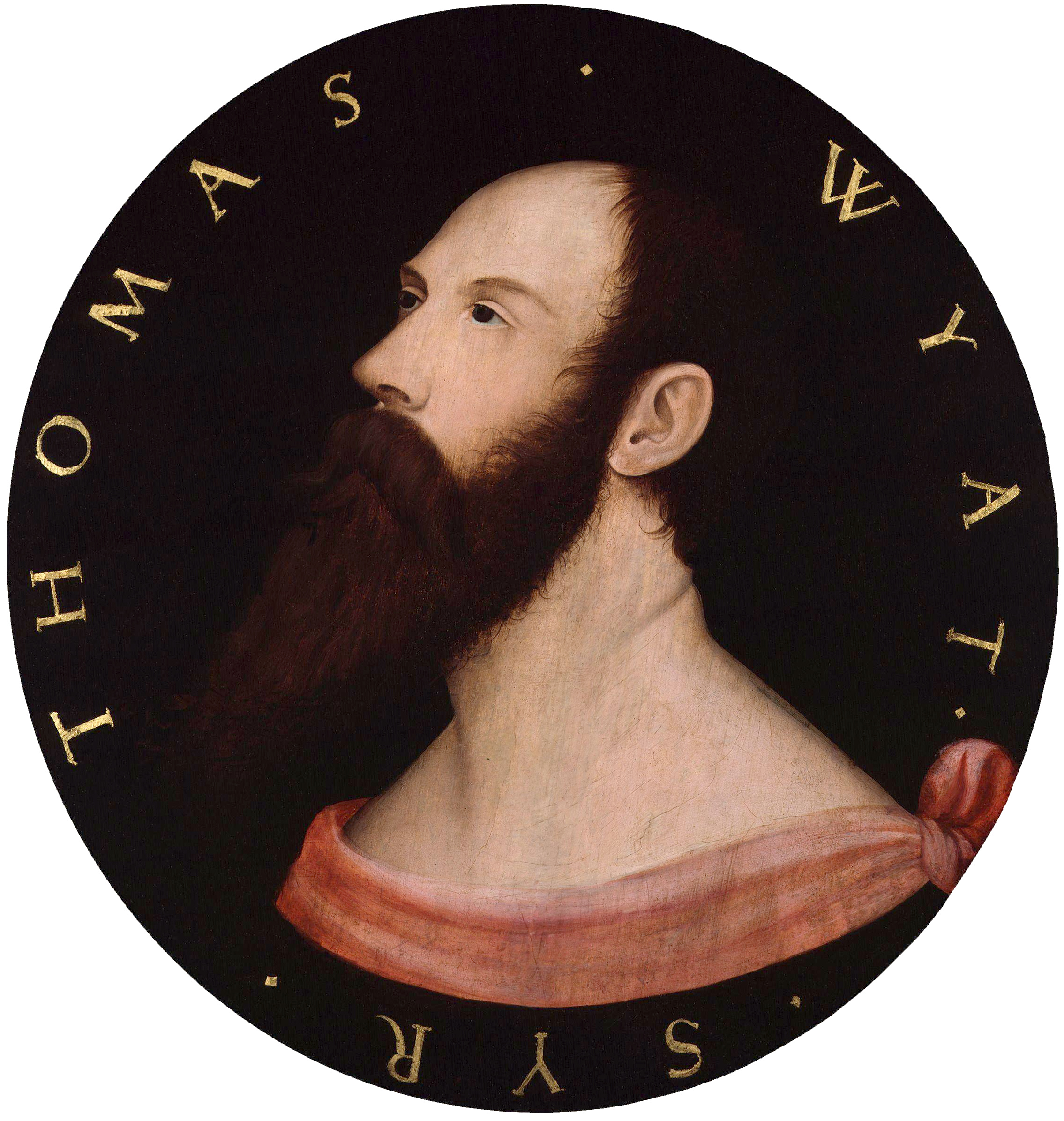 Portrait of Sir Thomas Wyatt. (2)