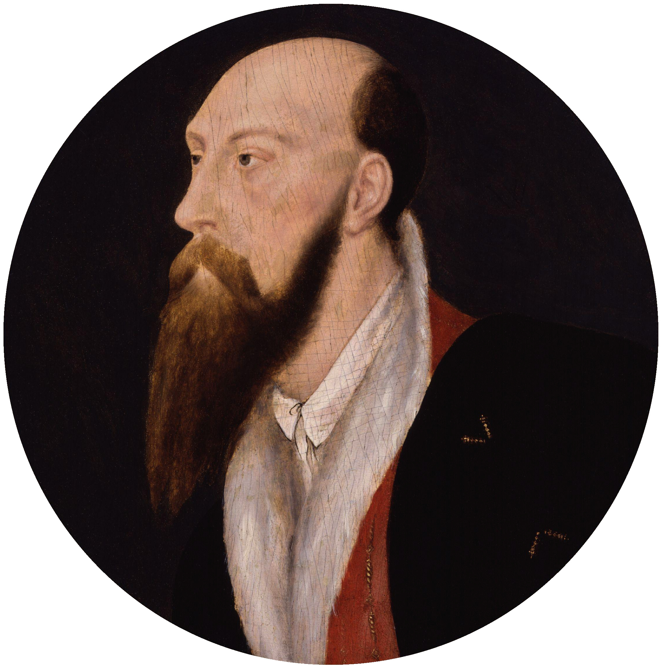 Portrait of Sir Thomas Wyatt. c.1540