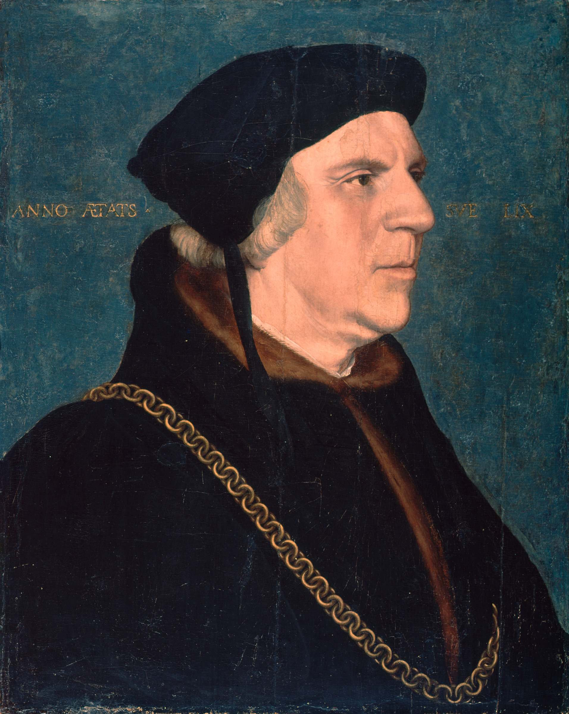 Portrait of Sir William Butts. 1543