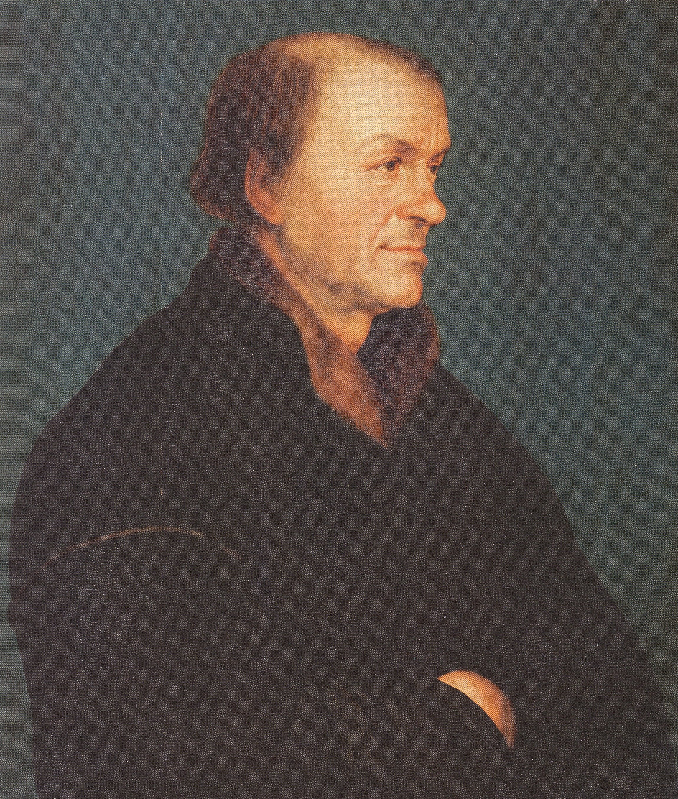 Portrait of the Book Printer Johann Froben (Anonymous copy after Hans Holbein the Younger)