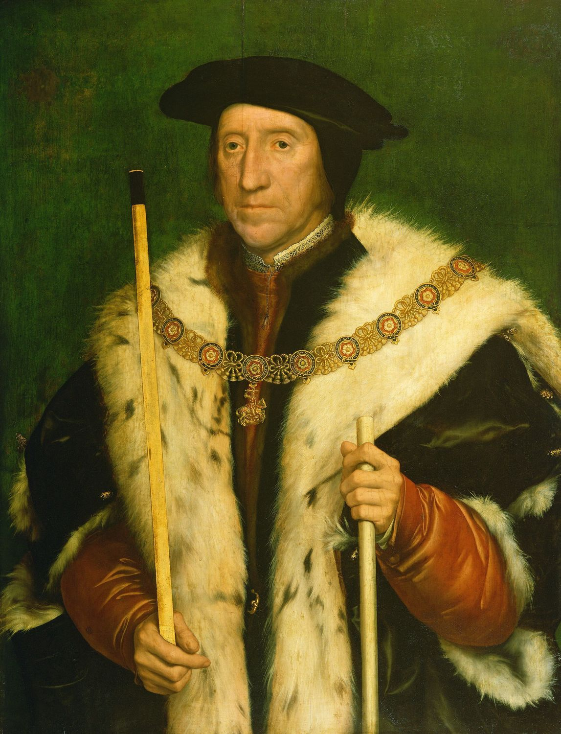 Portrait of Thomas Howard, 3rd Duke of Norfolk. c.1539-40