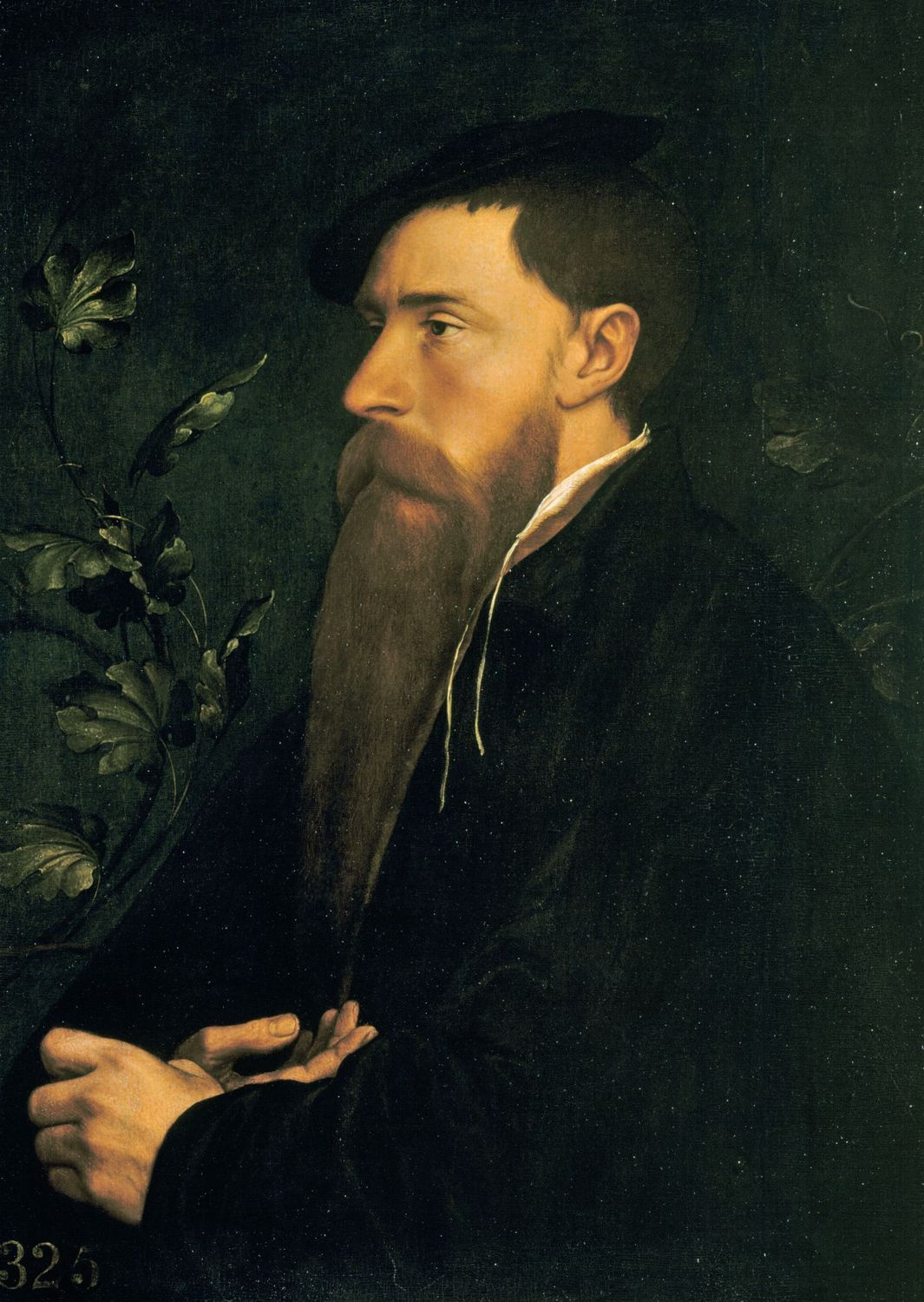 Portrait of William Reskimer. c.1532-34
