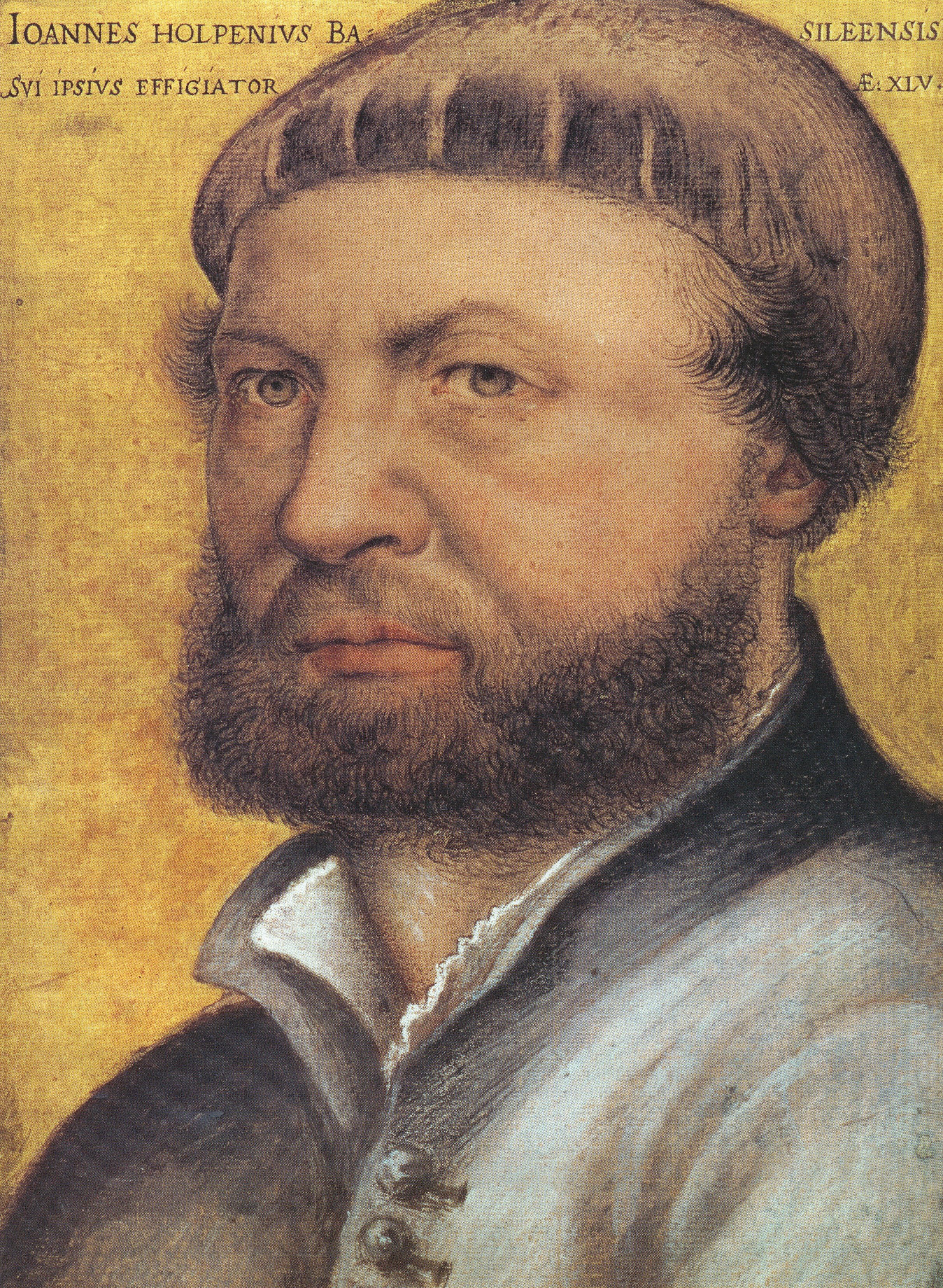 Self-Portrait. 1542-43