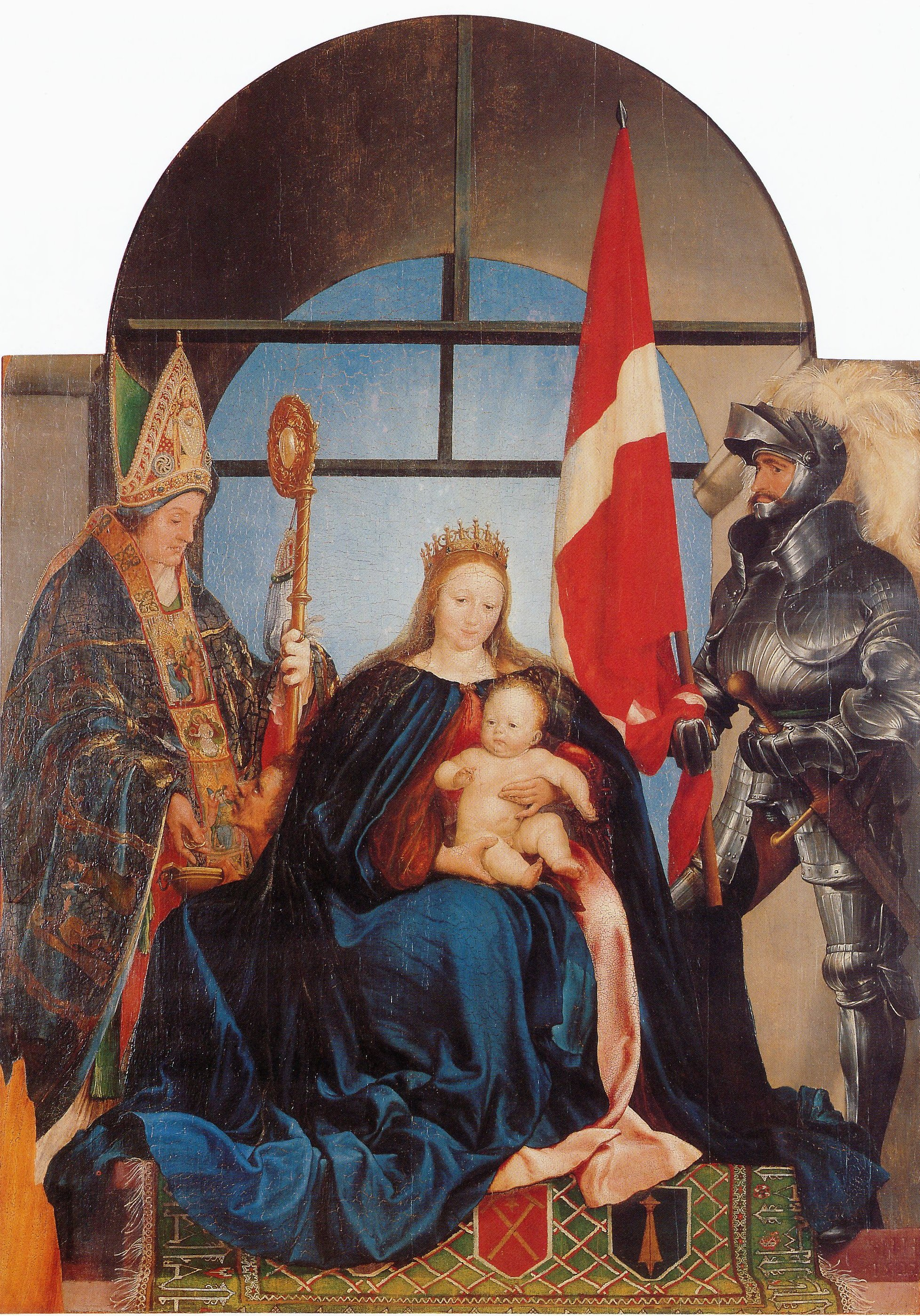 The Solothurn Madonna. 1522