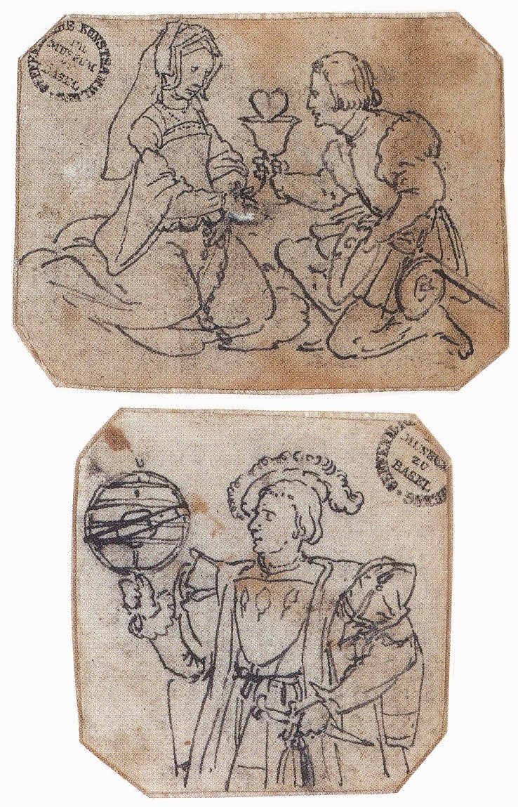 A Courtly Couple, c. 1532–36. A Nobleman Holding an Astronomical Globe. 1530s