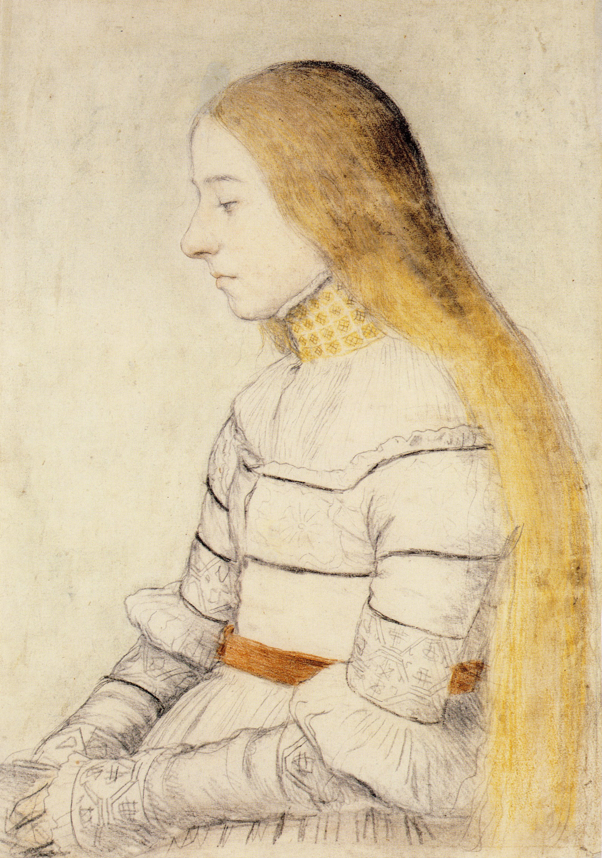 Anna Meyer, daughter of Jacob Meyer zum Hasen, 1516