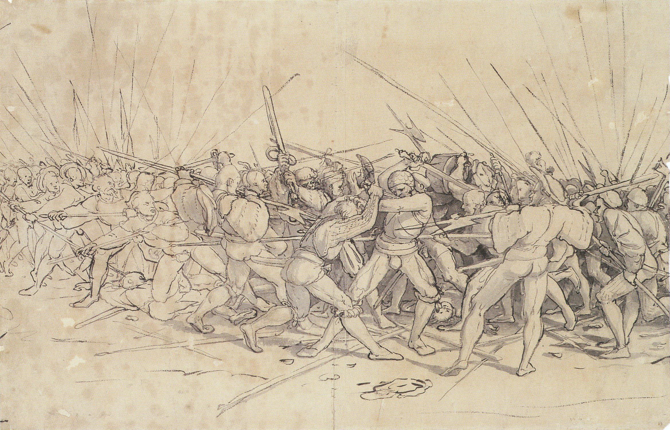 Battle Scene. c.1524