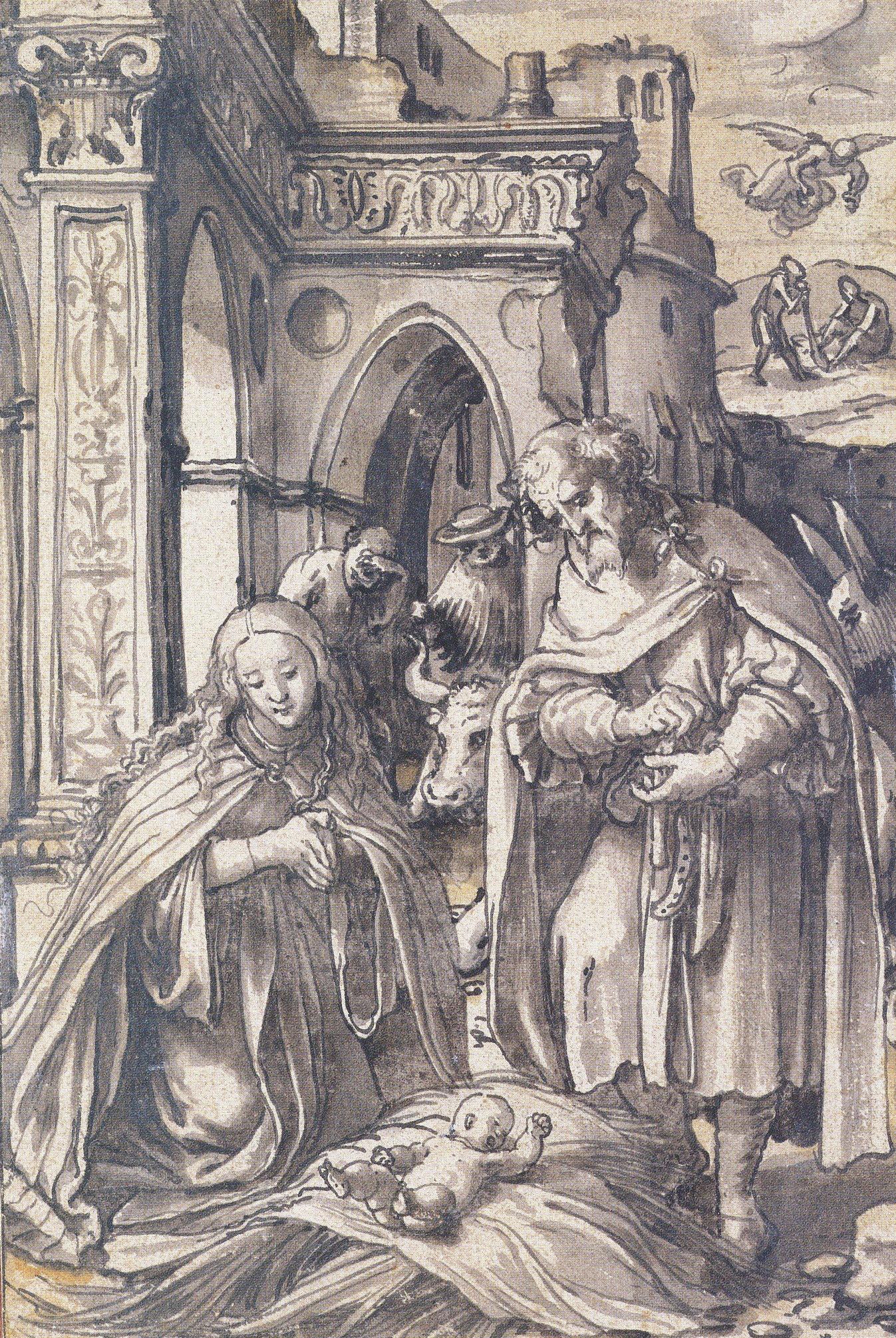 Nativity Scene. c.1520-22