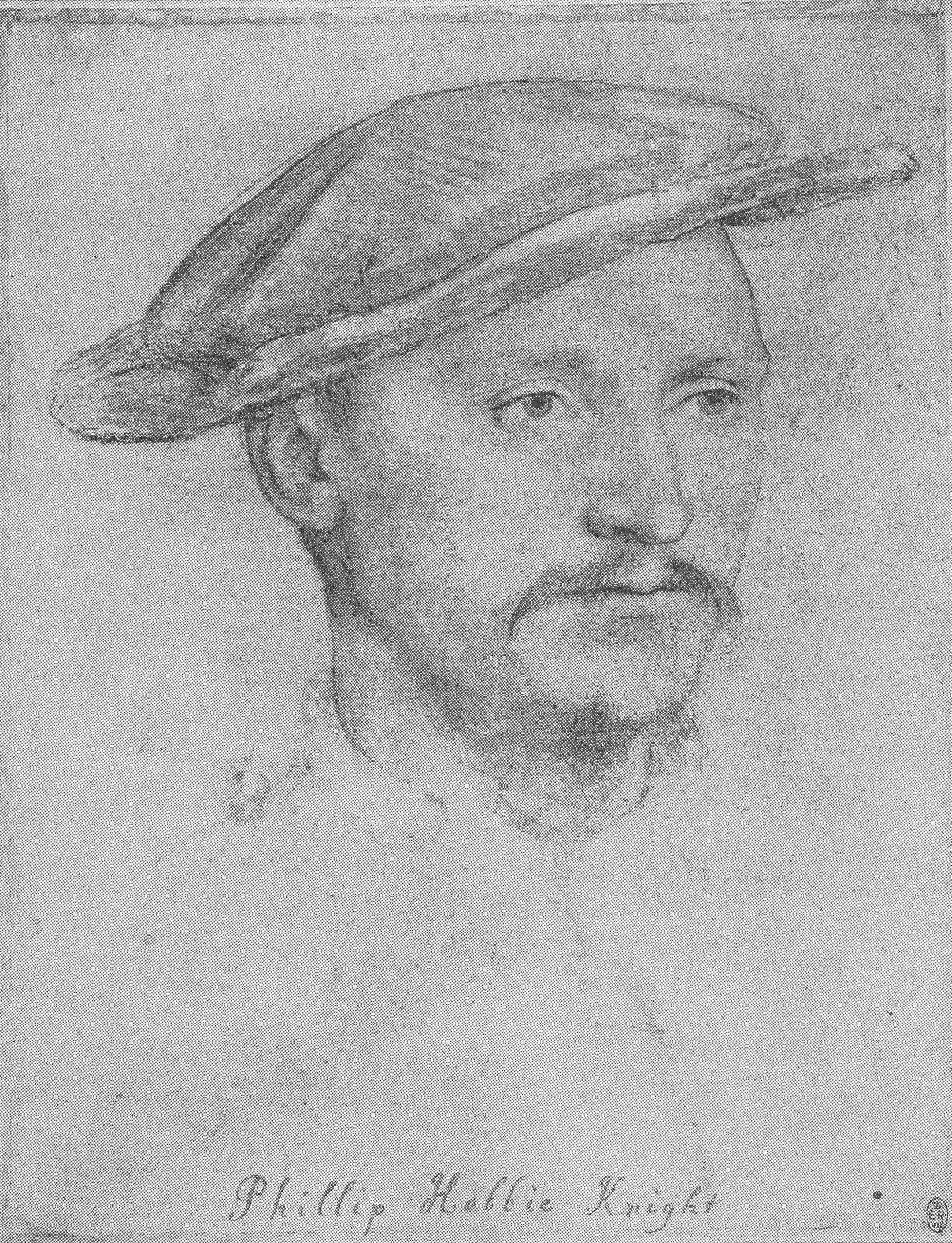 Portrait of a Sir Philip Hoby. c.1532-36