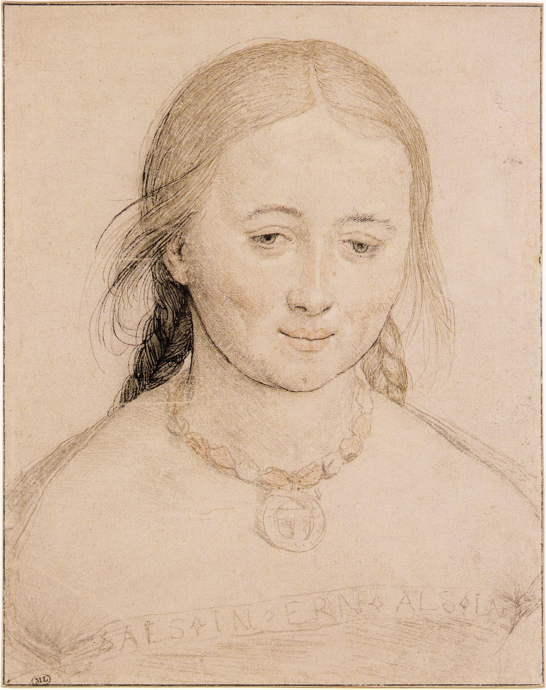 Portrait of a Young Woman. c.1520-22