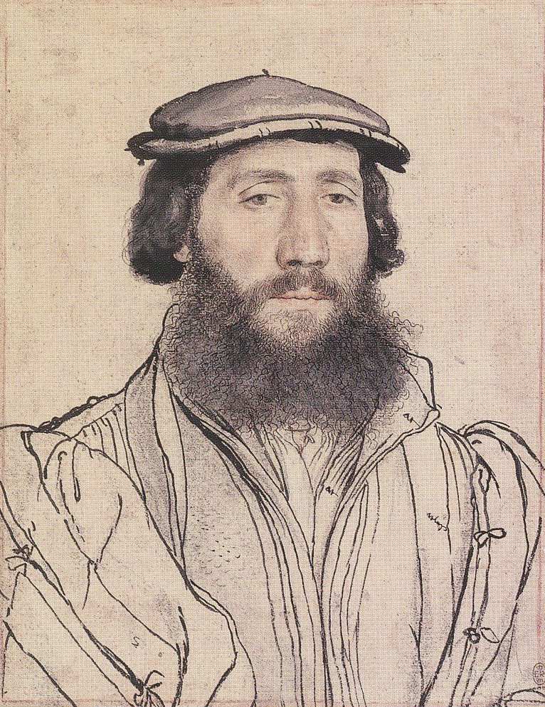 Portrait of an Unidentified Man with a Beard. c.1535