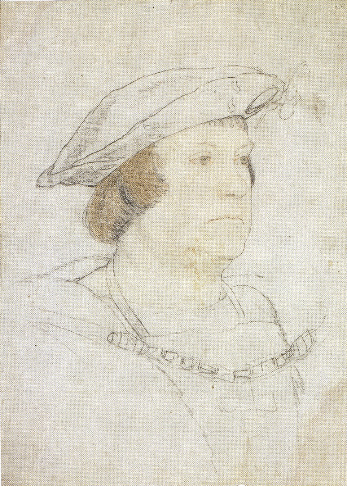 Portrait of an Unknown English Nobleman. c.1527