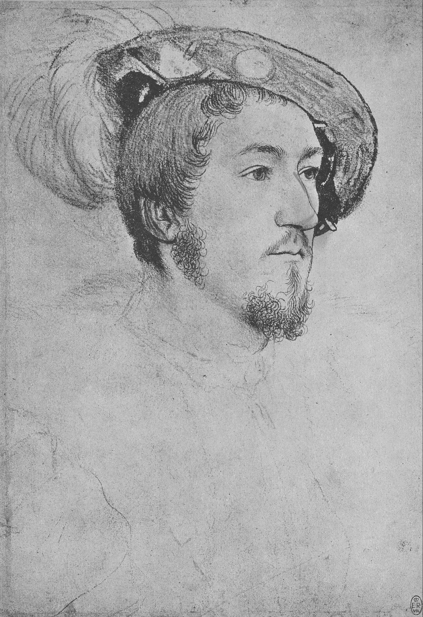 Portrait of an Unknown Gentleman, 1532-43
