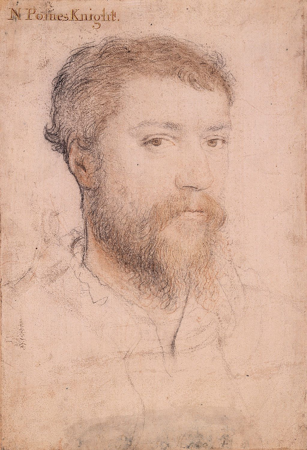 Portrait of an Unknown Gentleman, 1540-50