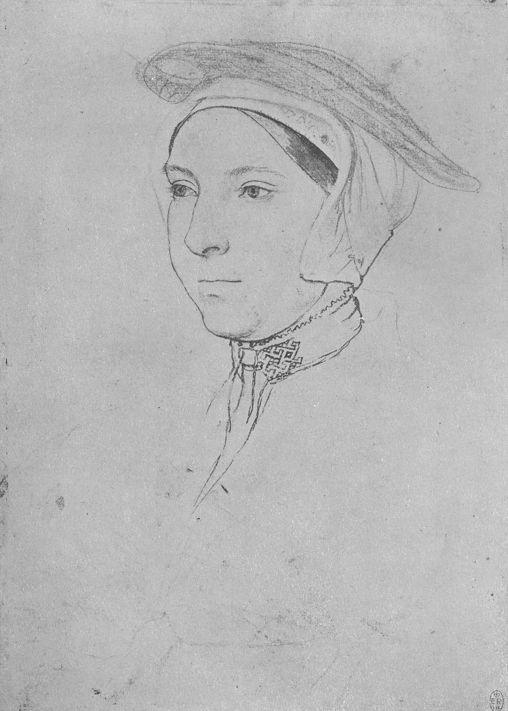 Portrait of an Unknown Lady, 1532-43