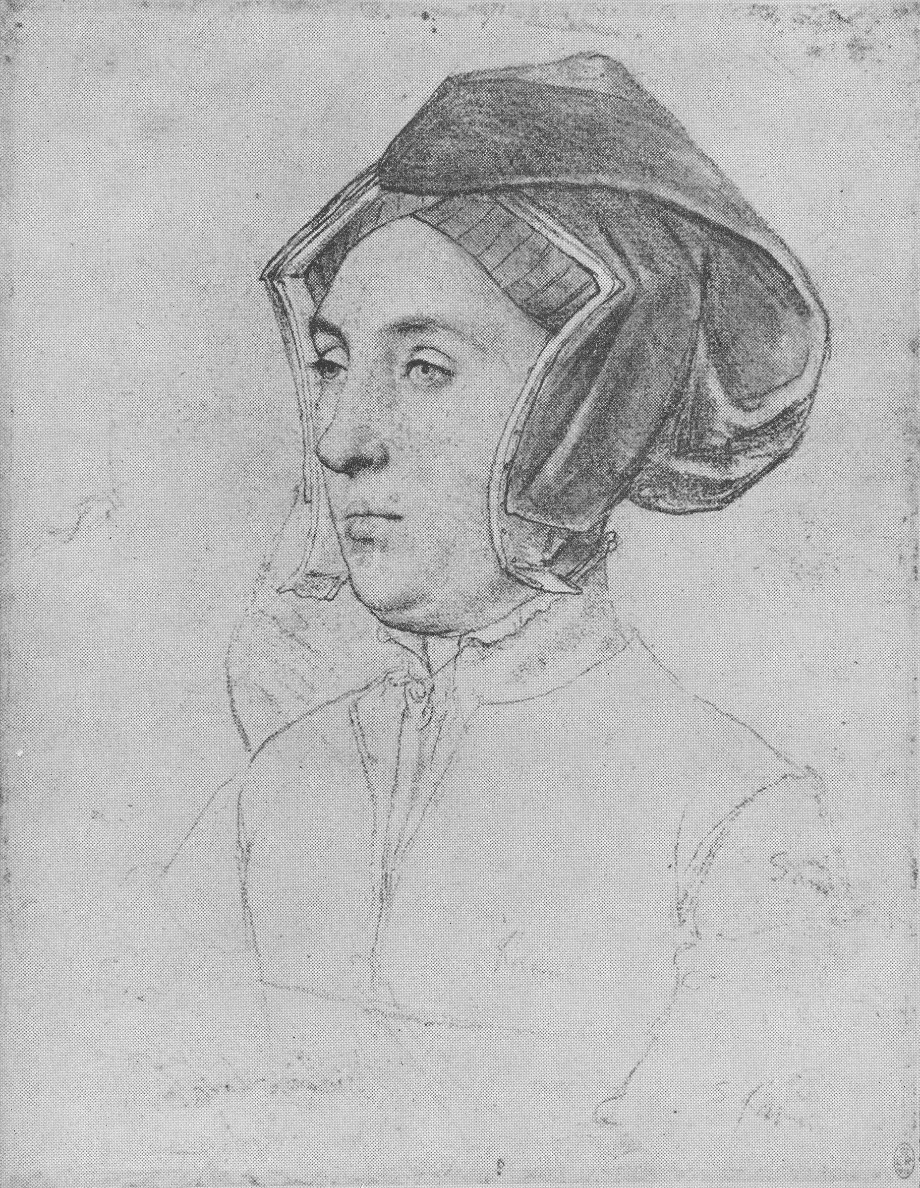Portrait of an Unknown Lady, 1532-1543