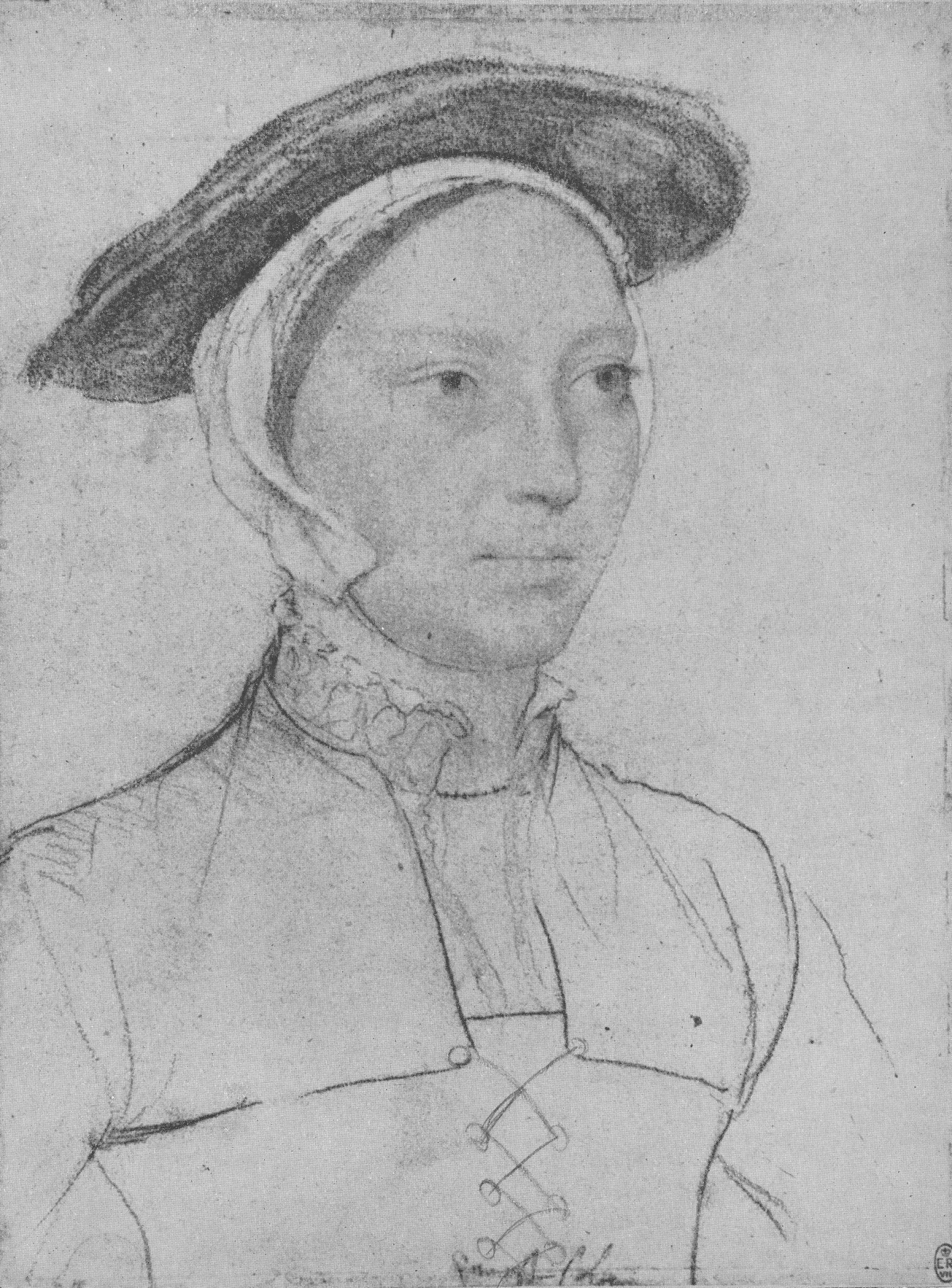 Portrait of an Unknown Lady. 1532-1543