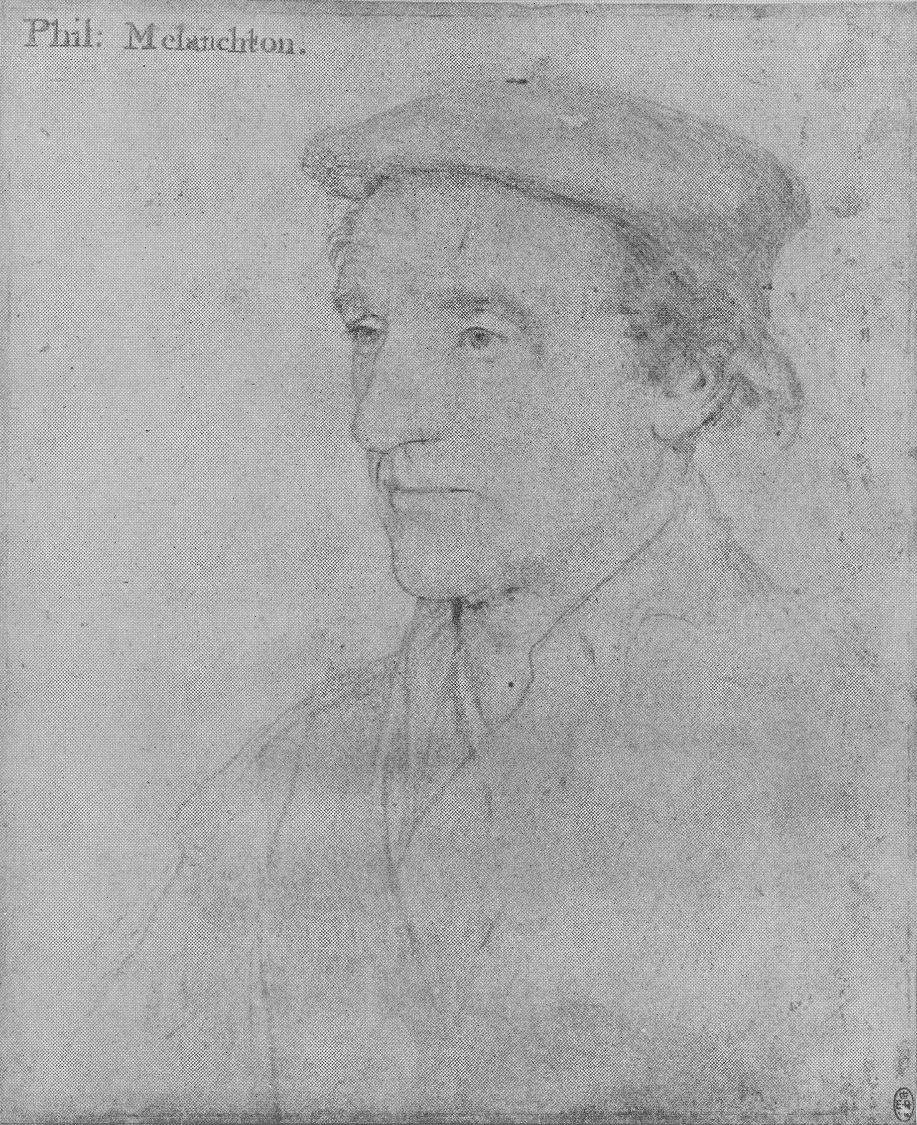 Portrait of an Unknown Man. 1532-43