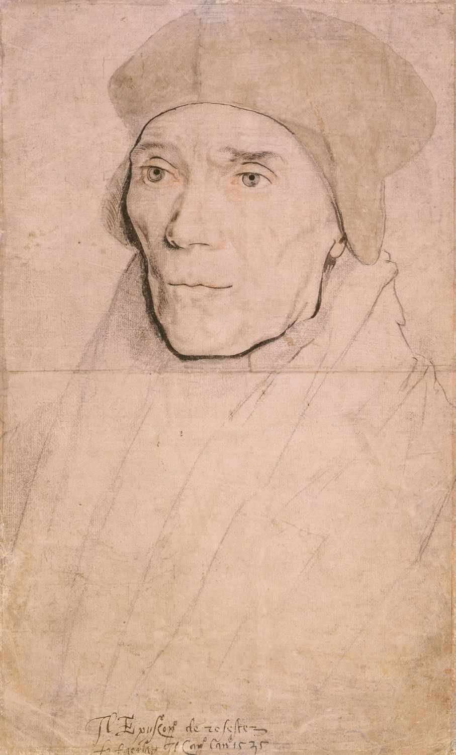 Portrait of Bishop John Fisher. c.1532-35