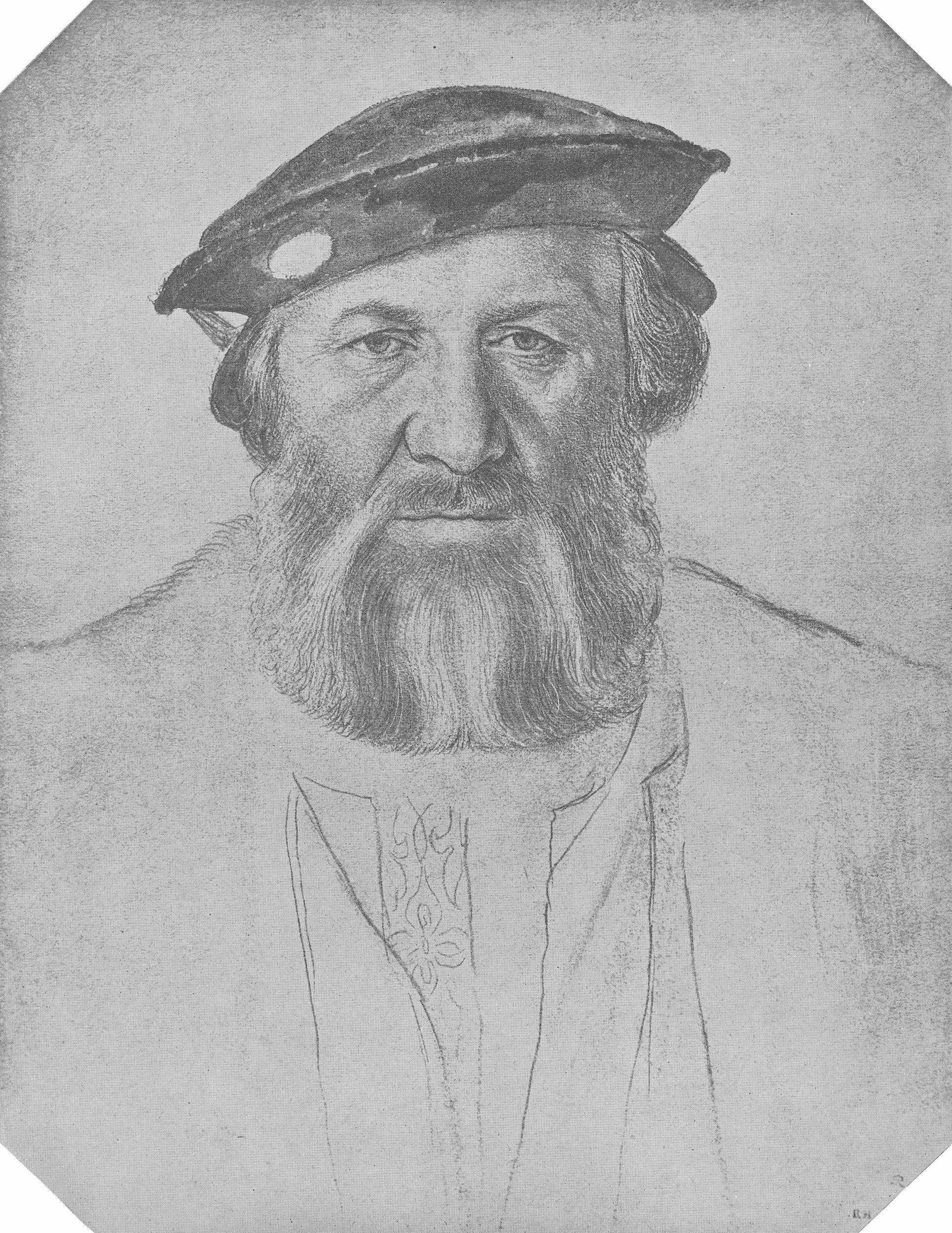 Portrait of Charles de Solier, Sieur de Morette. c.1534-35