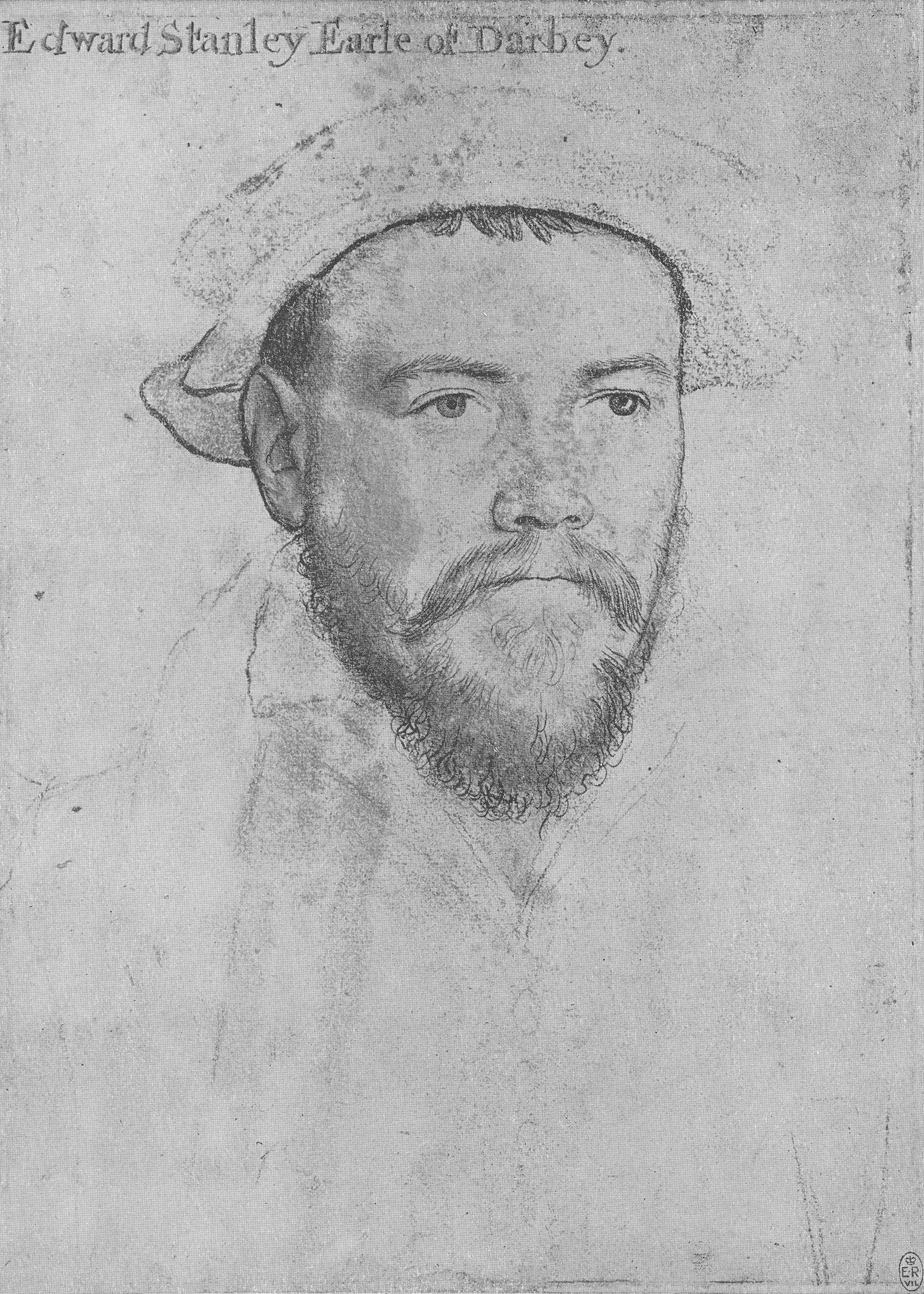 Portrait of Edward Stanley, Earl of Derby. 1532-43