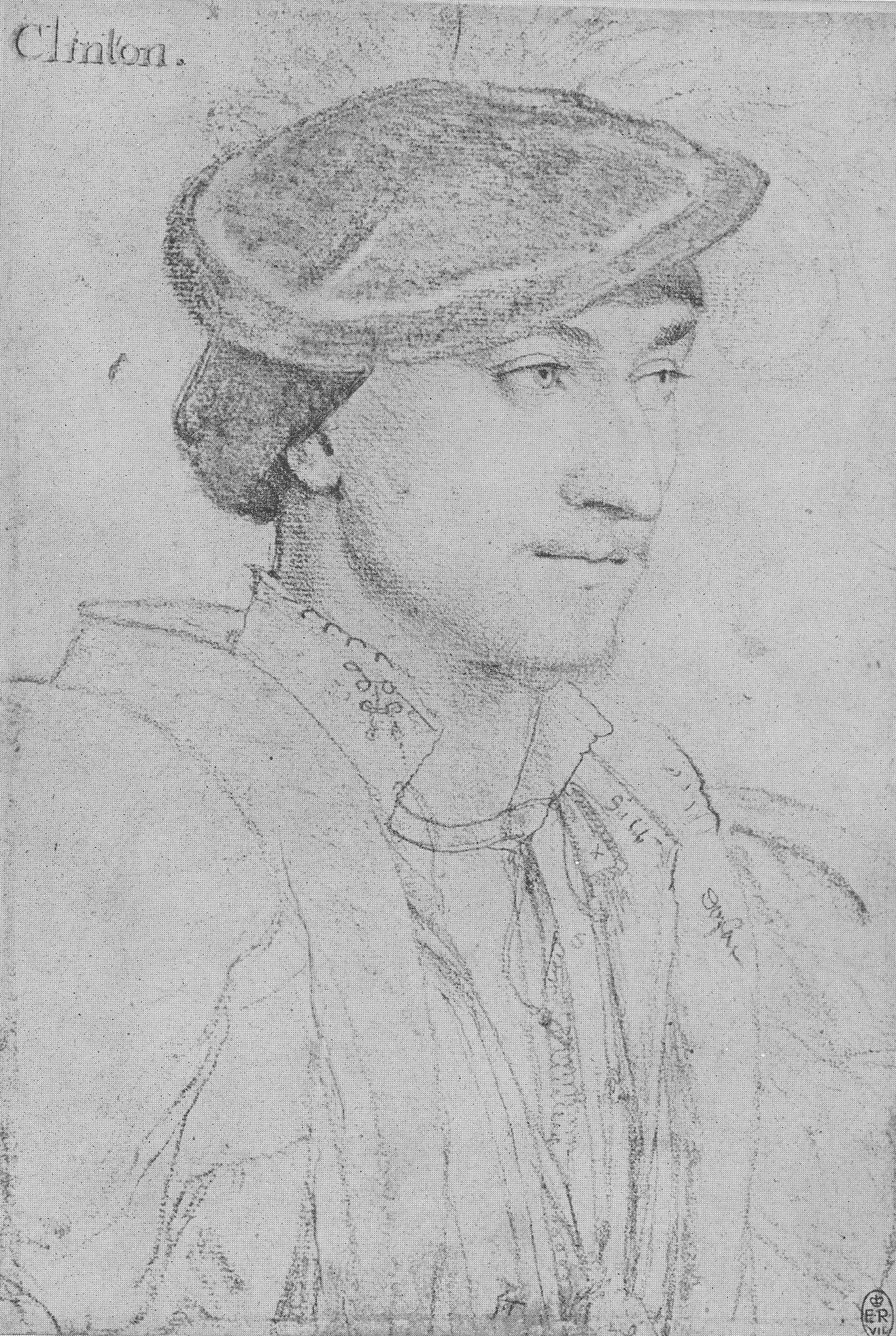 Portrait of Edward, Lord Clinton. c.1534-35