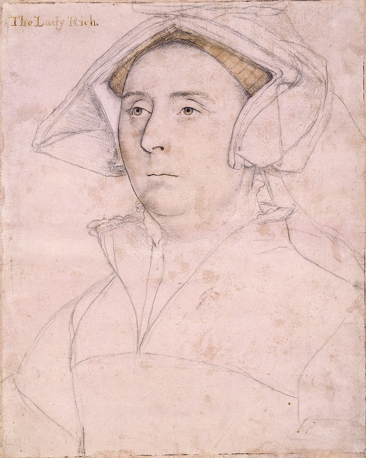 Portrait of Elizabeth, Lady Rich. c.1535-40