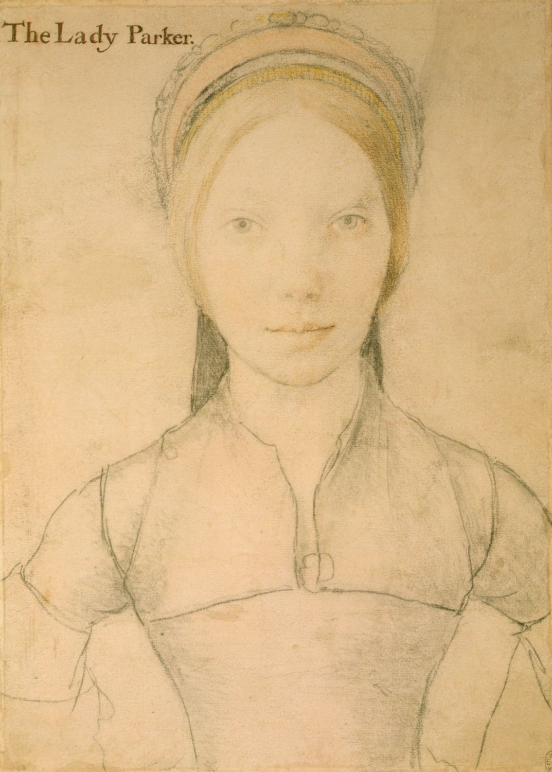 Portrait of Grace, Lady Parker. 1530s