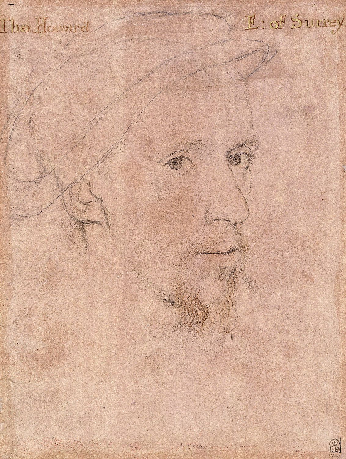 Portrait of Henry Howard, Earl of Surrey. c.1550