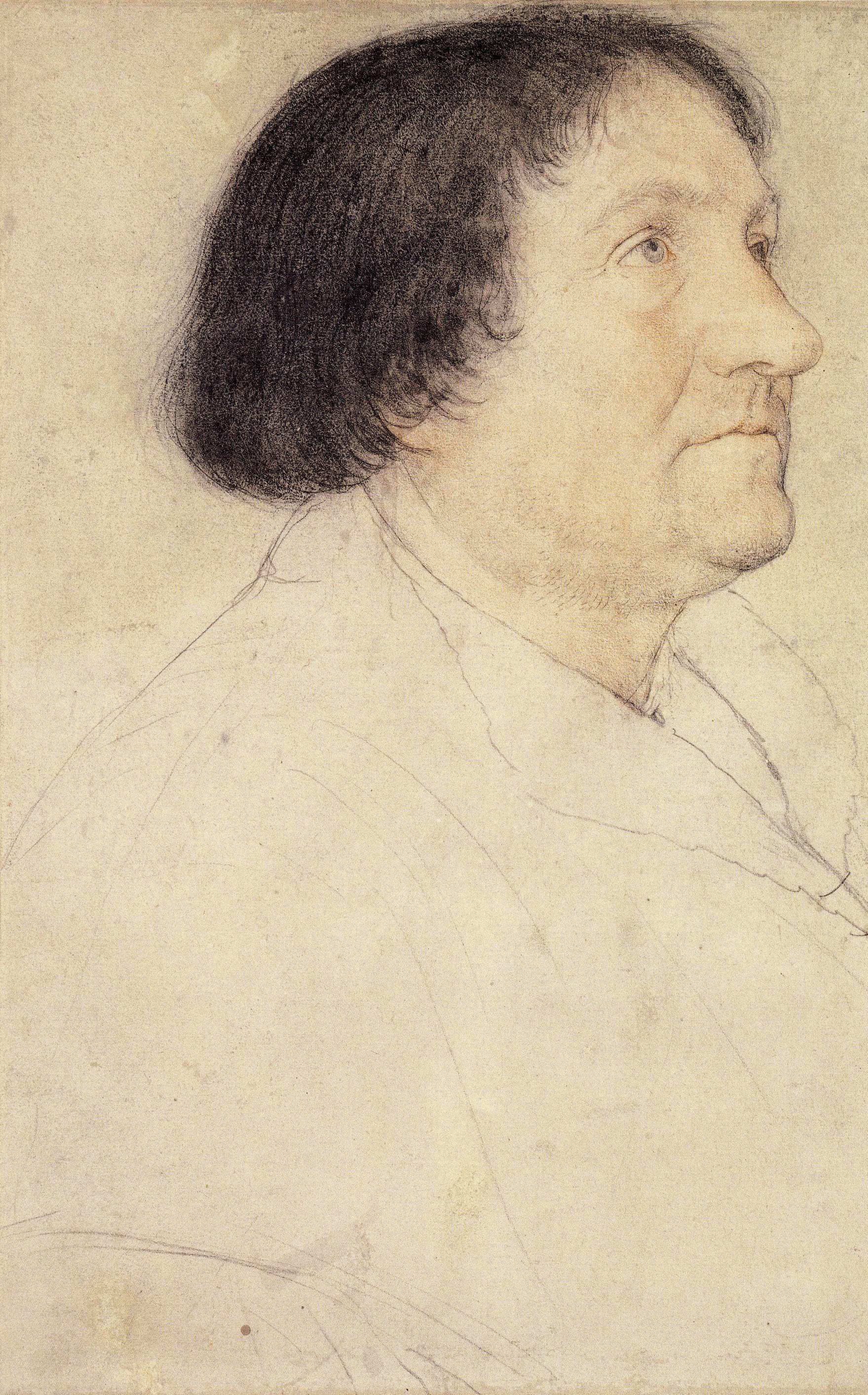 Portrait of Jacob Meyer zum Hasen. c.1525-26