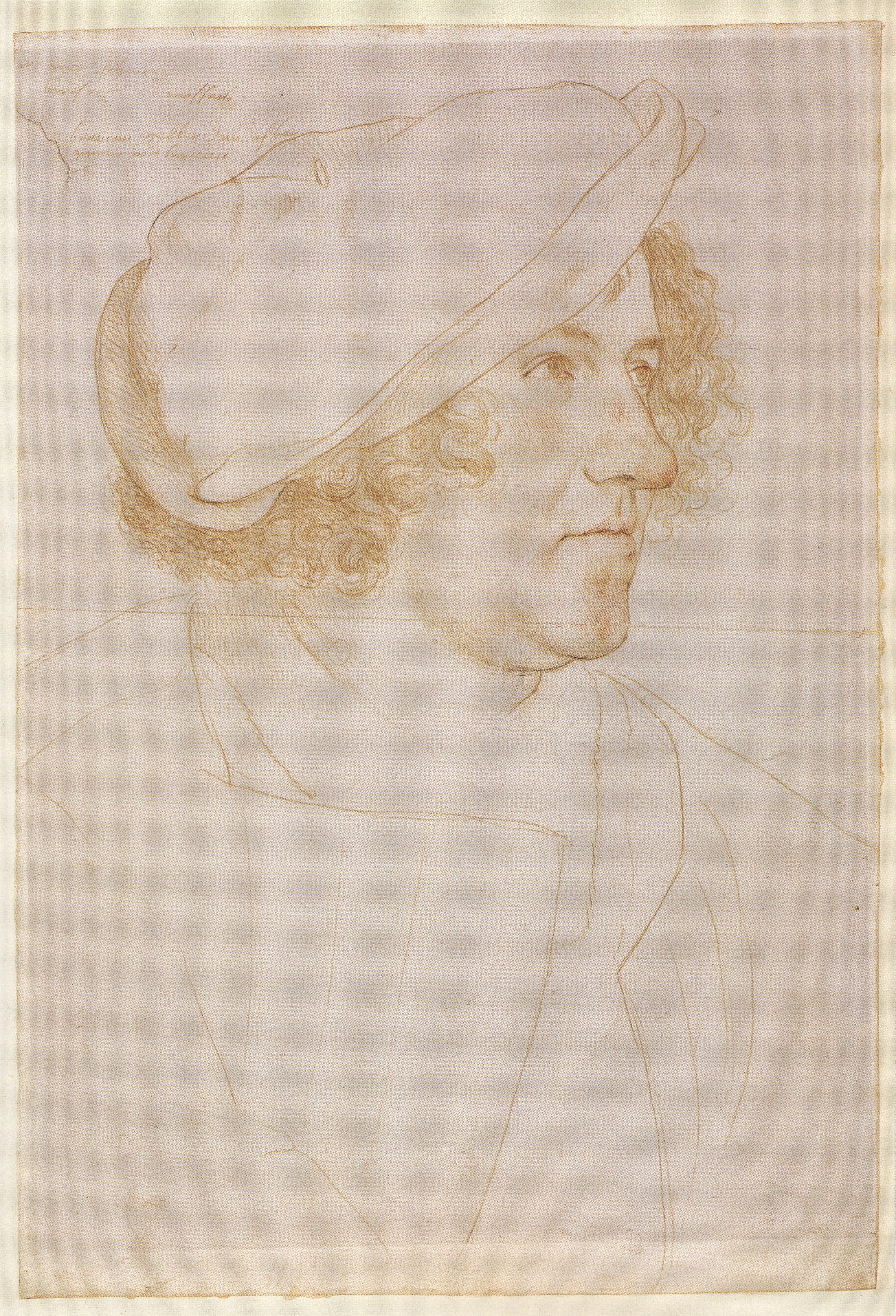 Portrait of Jakob Meyer zum Hasen. 1516