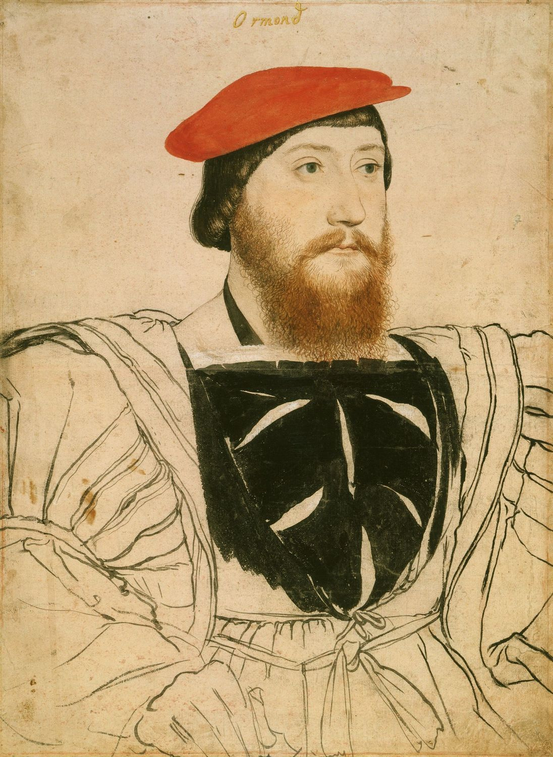 Portrait of James Butler, Earl of Ormond. c.1537