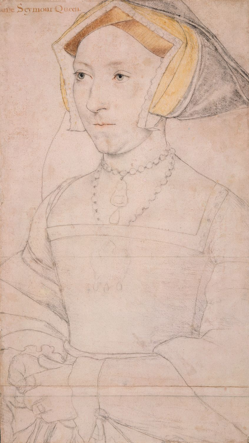 Portrait of Jane Seymour. c.1536